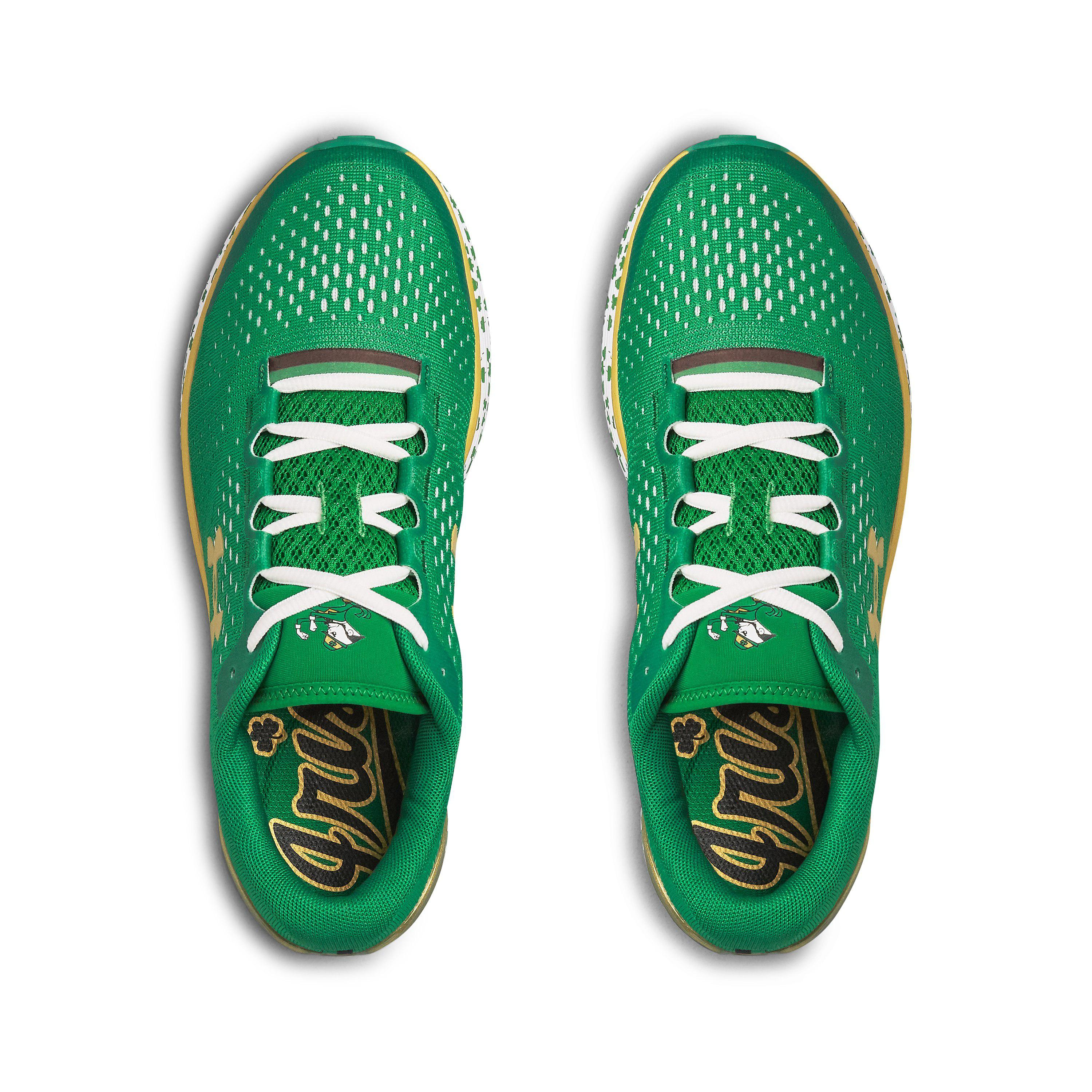 los angeles 110ac eb961 Under Armour Green Men's Ua Charged Bandit 4 Team Running Shoes for men