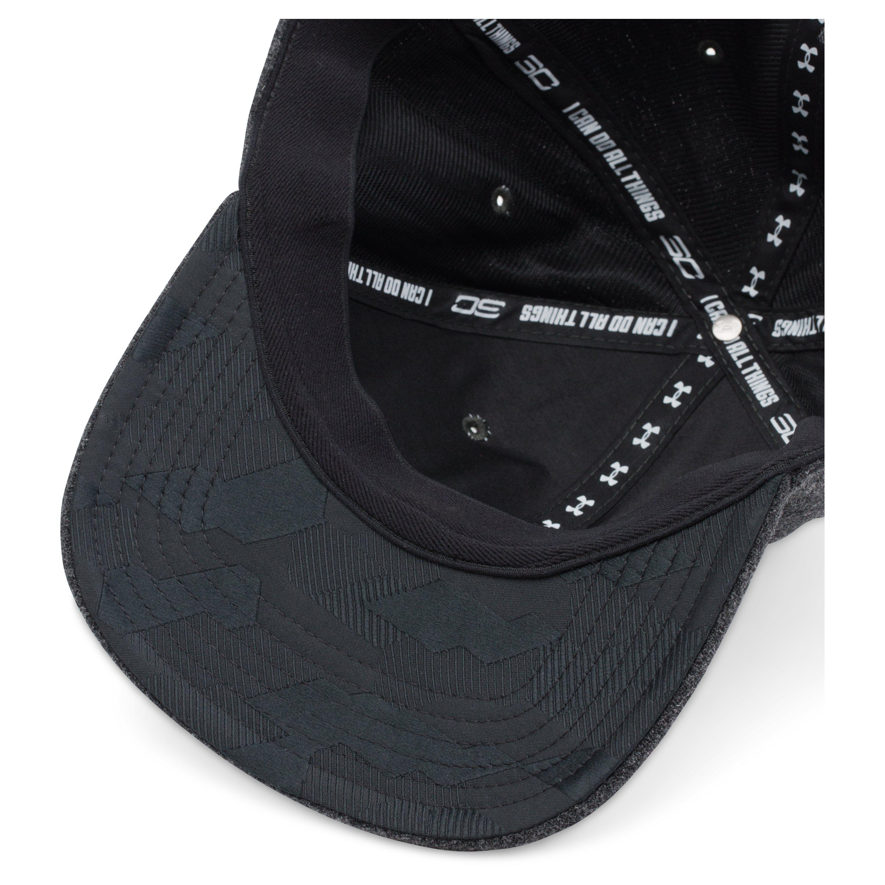 Lyst - Under Armour Men s Ua Sc30 Elite Cap in Black for Men 55fc9912bbd
