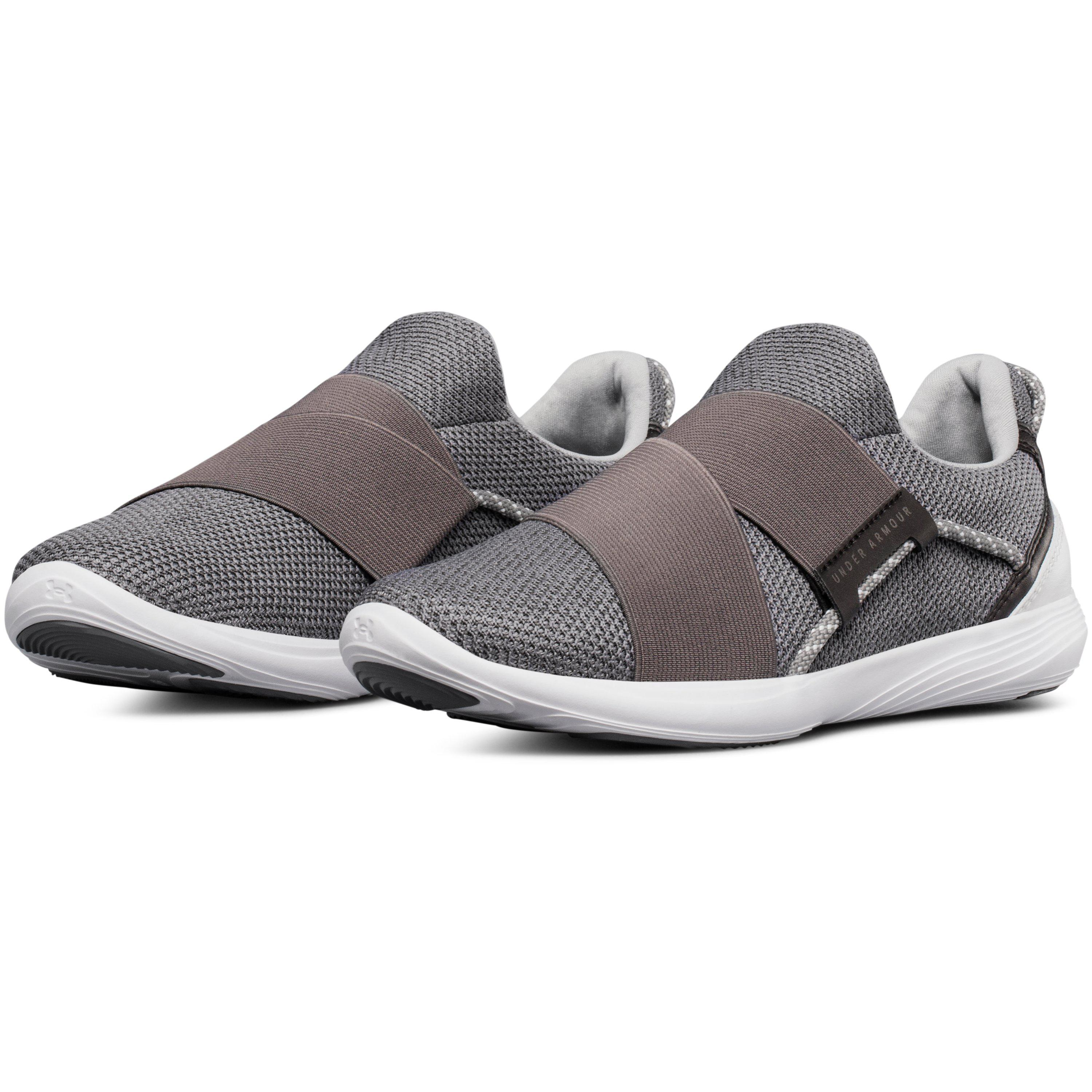 d13aa2fef0167 Lyst - Under Armour Women s Ua Precision X Training Shoes in Gray
