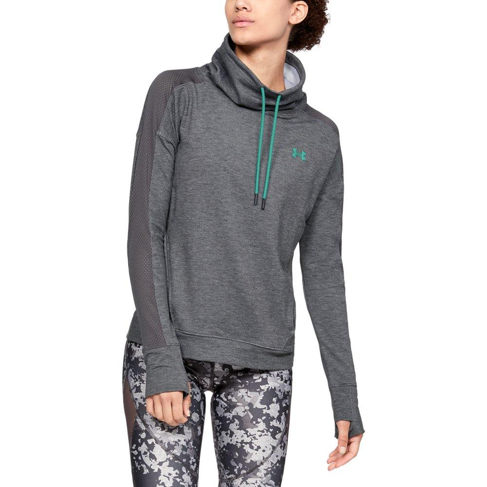 47a1c576f529 Lyst - Under Armour Featherweight Fleece Funnel Neck in Gray