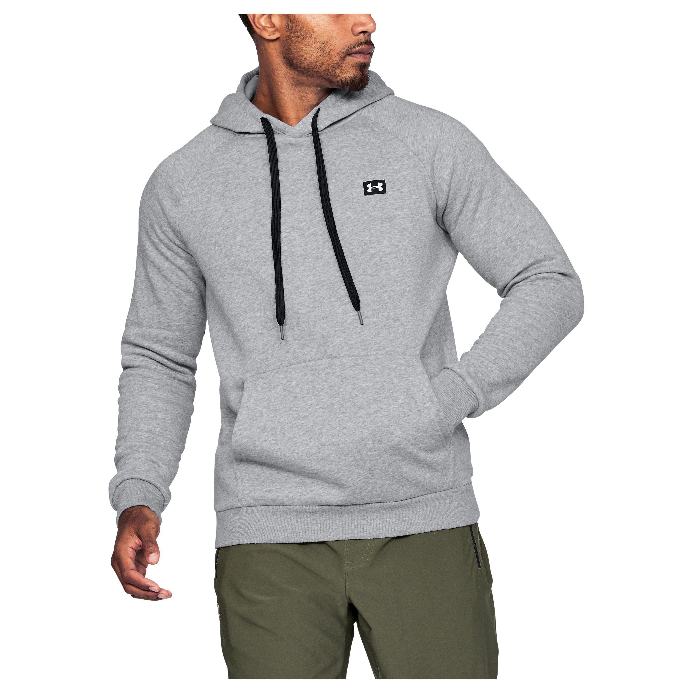 1b68ba8391 Under Armour Gray Men's Ua Rival Fleece Hoodie for men