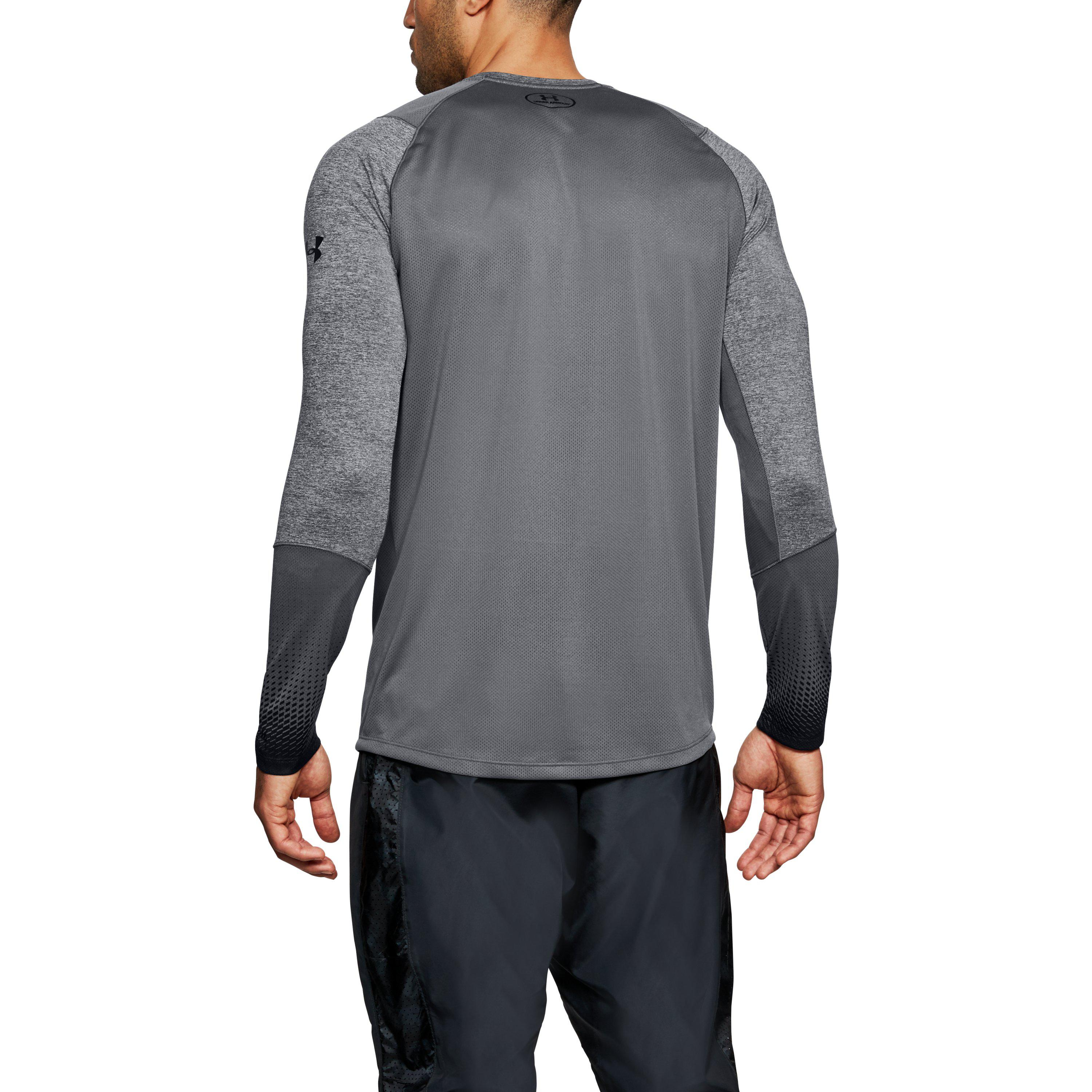 Under Armour Mens MK-1 Long Sleeve Graphic Shirt
