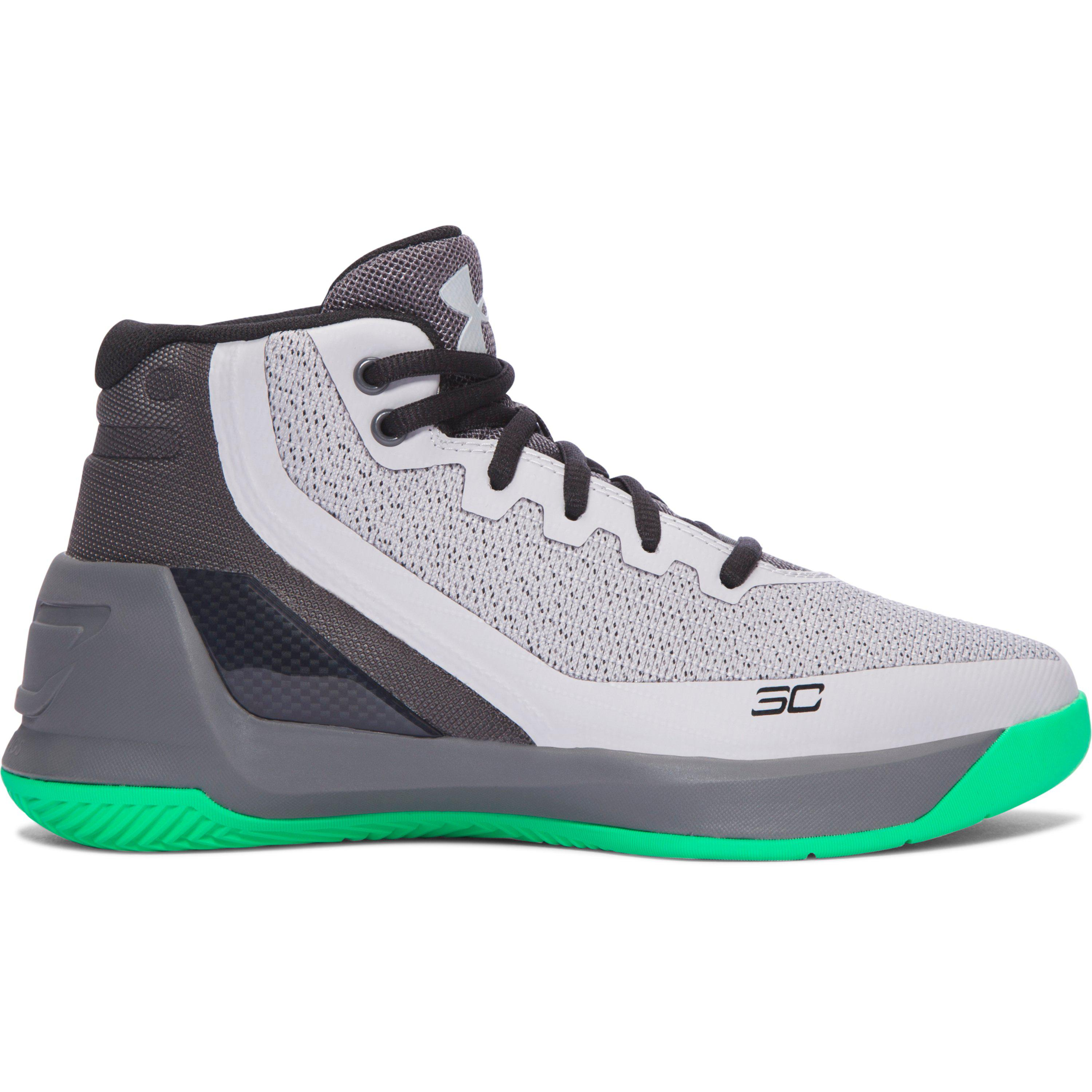 619646c5b6be Lyst - Under Armour Pre-school Ua Curry 3 Basketball Shoes in Gray ...