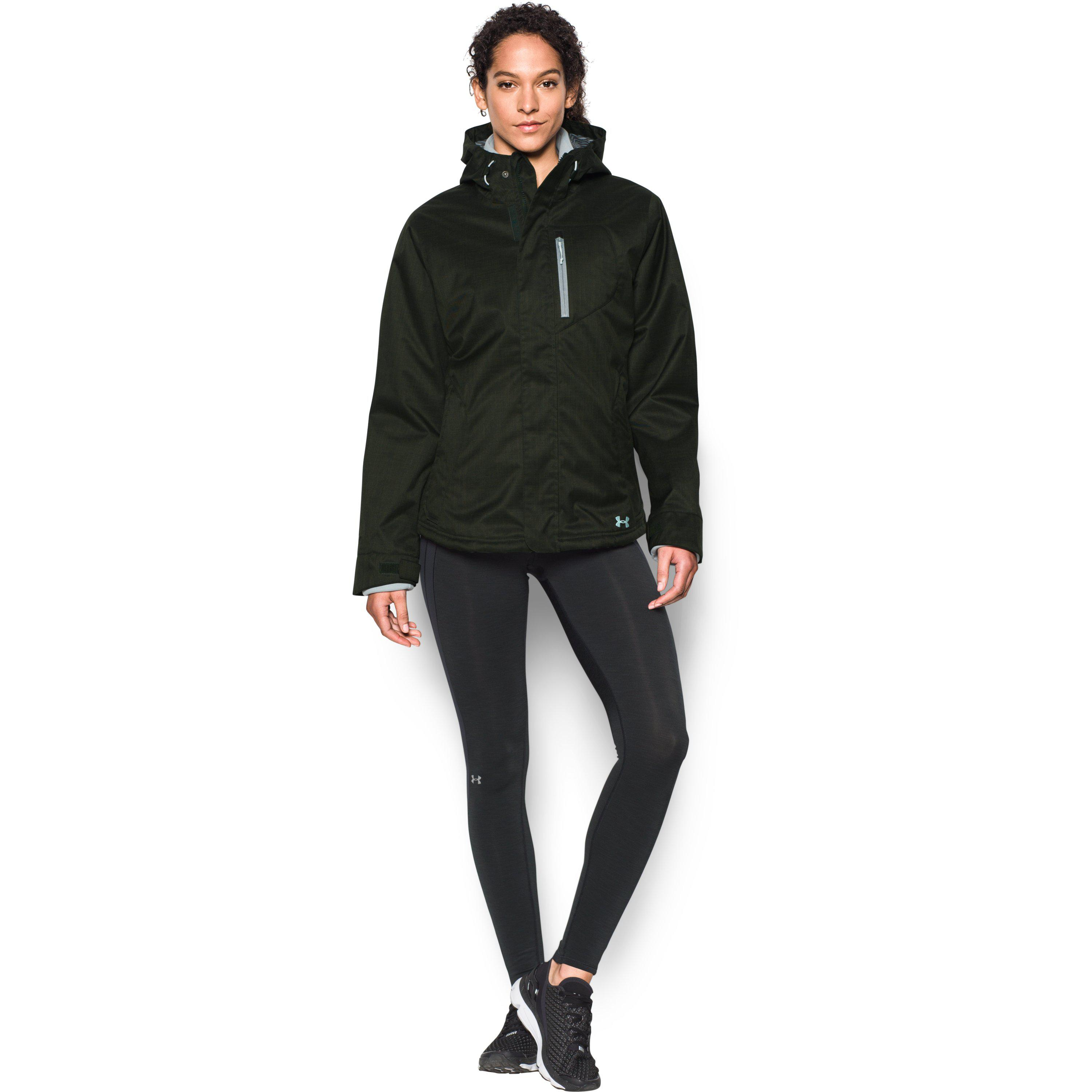 2078a2ee Under Armour Green Women's Ua Coldgear® Infrared Sienna 3-in-1 Jacket