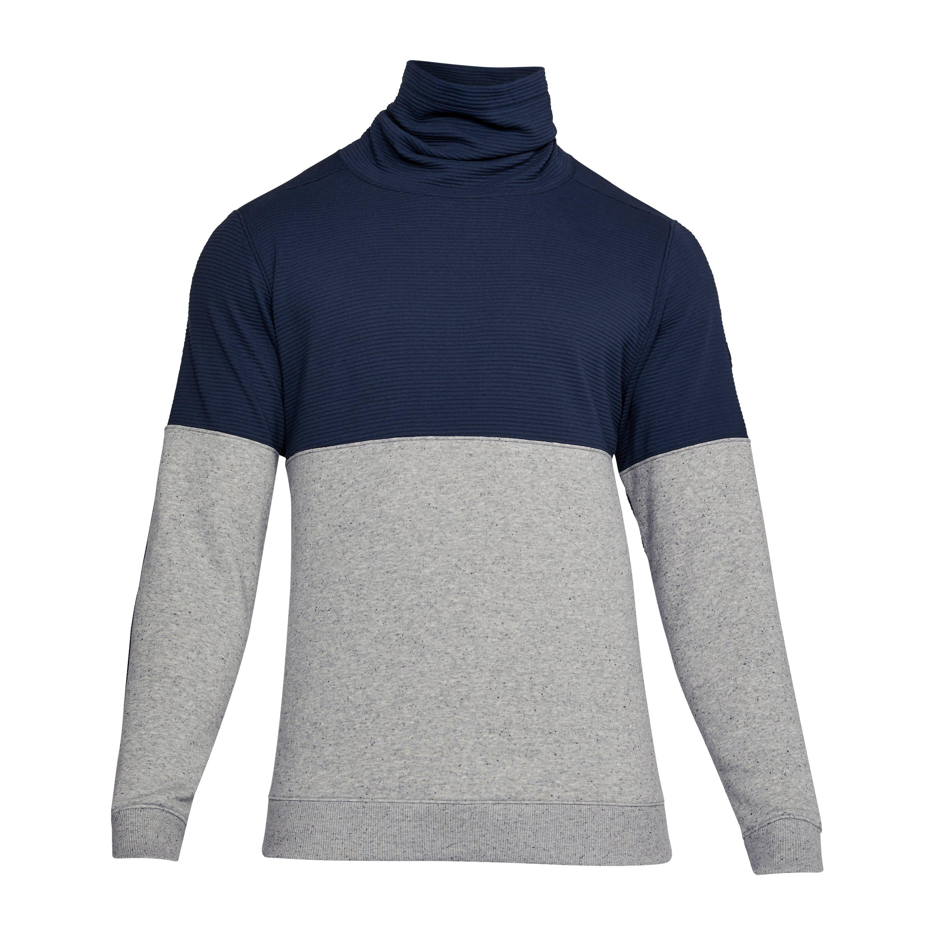 Under Armor Mens Sportstyle Channel Quilted Mock