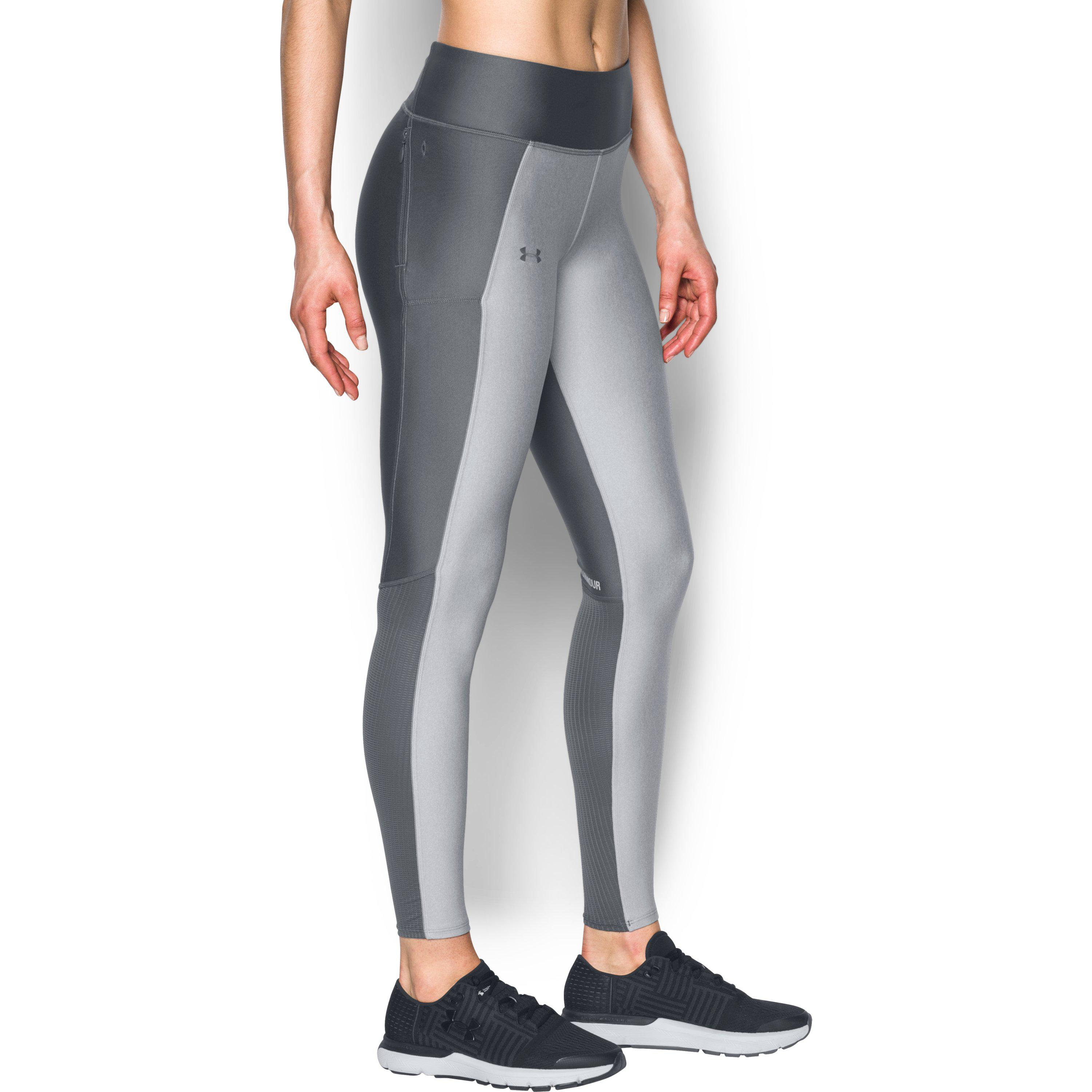 6a169ef71a0f0 Lyst - Under Armour Women's Ua Fly-by Leggings in Gray