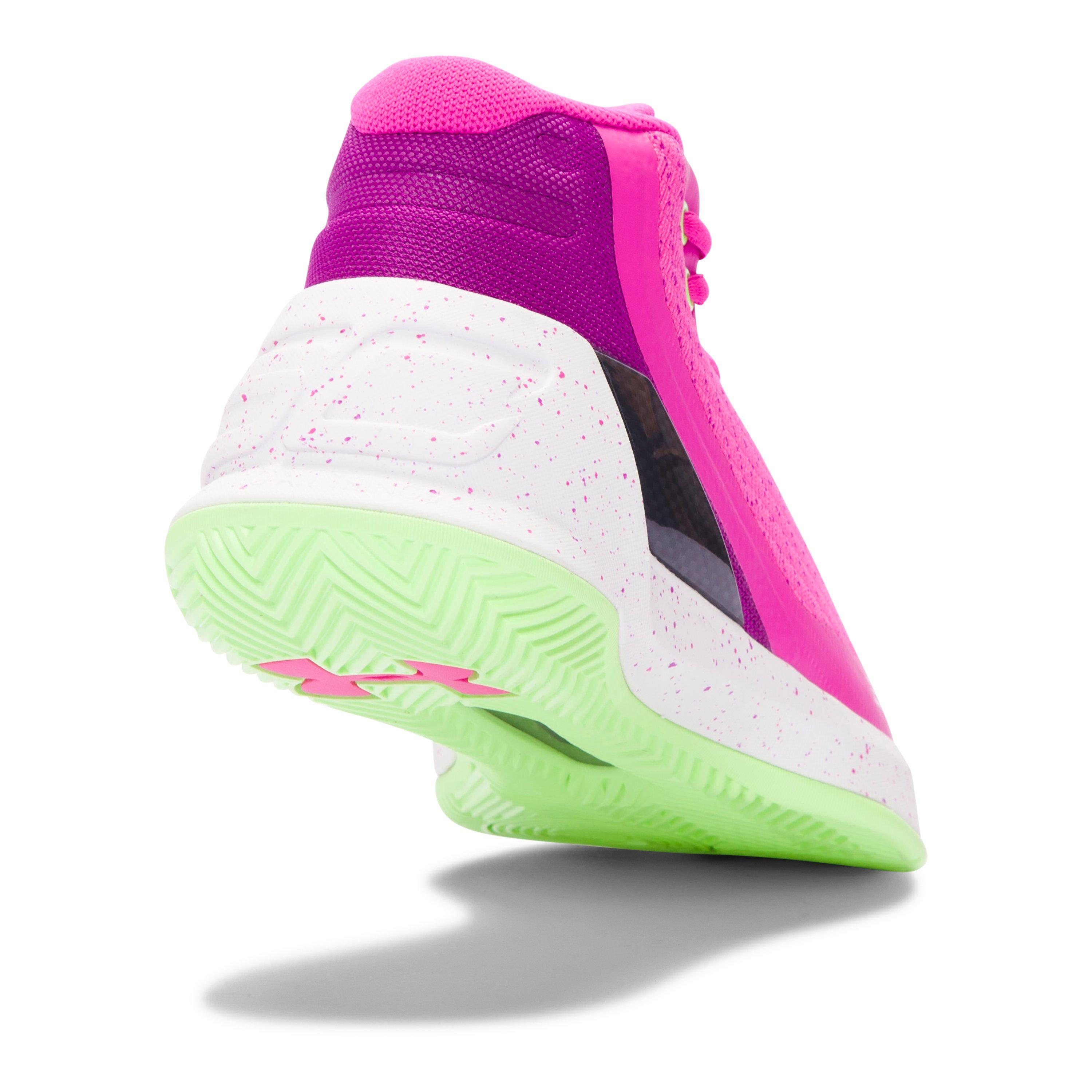 new concept 2037b 9ffa7 release date ua curry 3 pink green ab1df 5d2f7