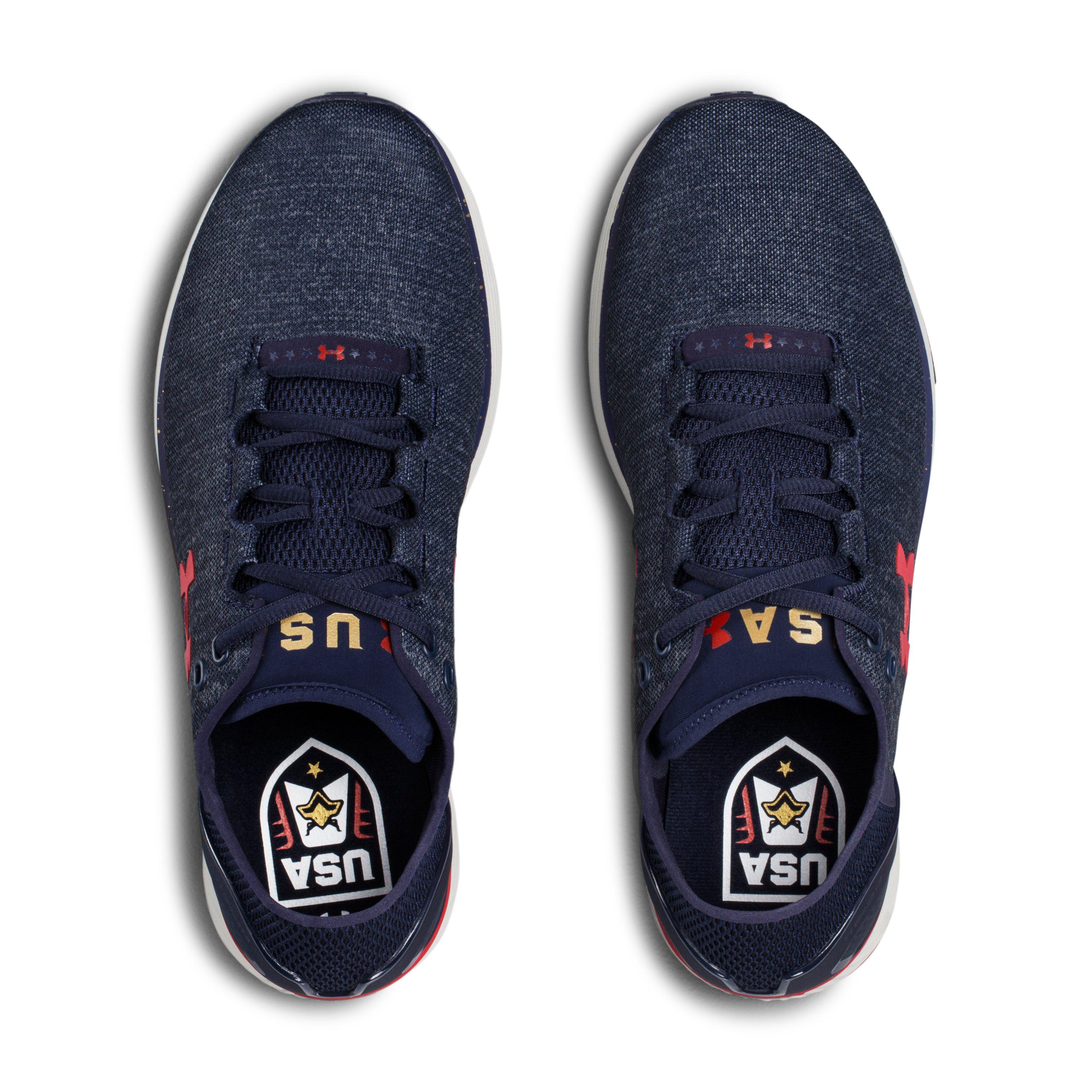 new product f913c 11187 Under Armour Blue Men's Ua Charged Bandit 3 – Usa Edition Running Shoes for  men