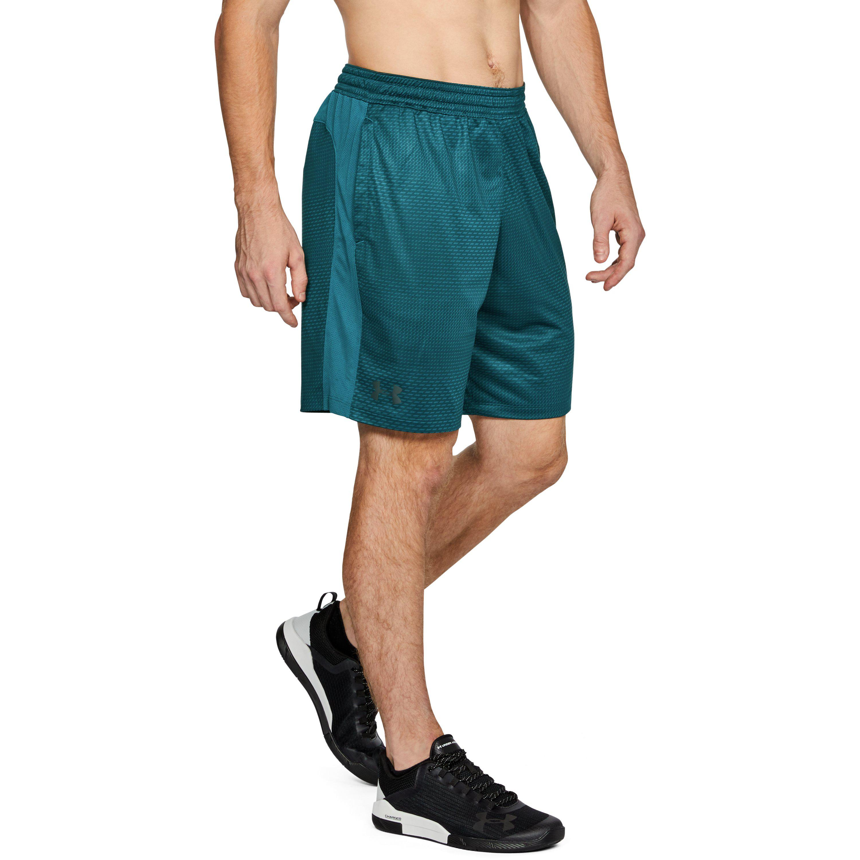 ba6d4cade5 Under Armour Blue Men's Ua Mk1 Printed Shorts for men