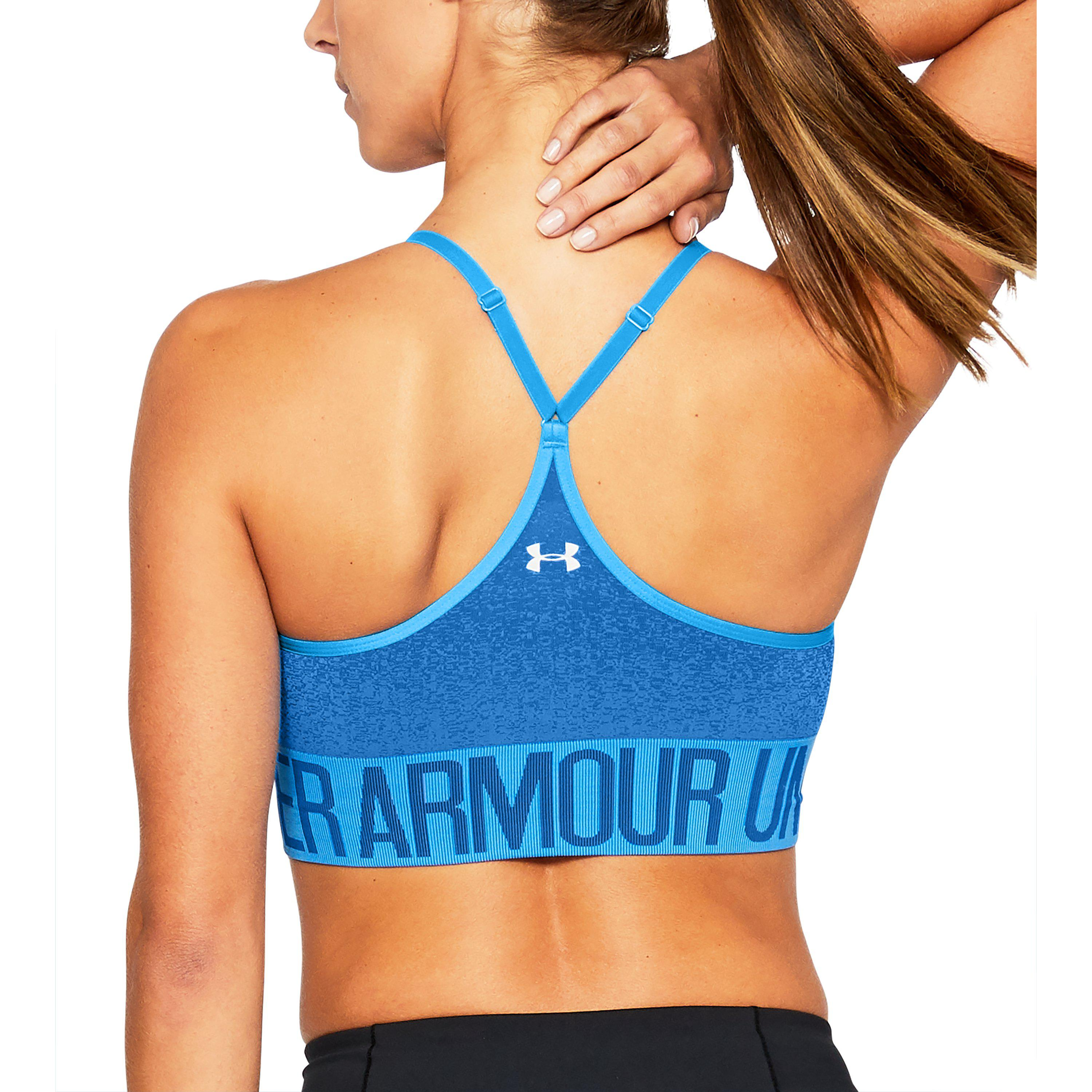 23ce576d72 Lyst - Under Armour Women s Armour® Seamless Ombre Printed Sports ...