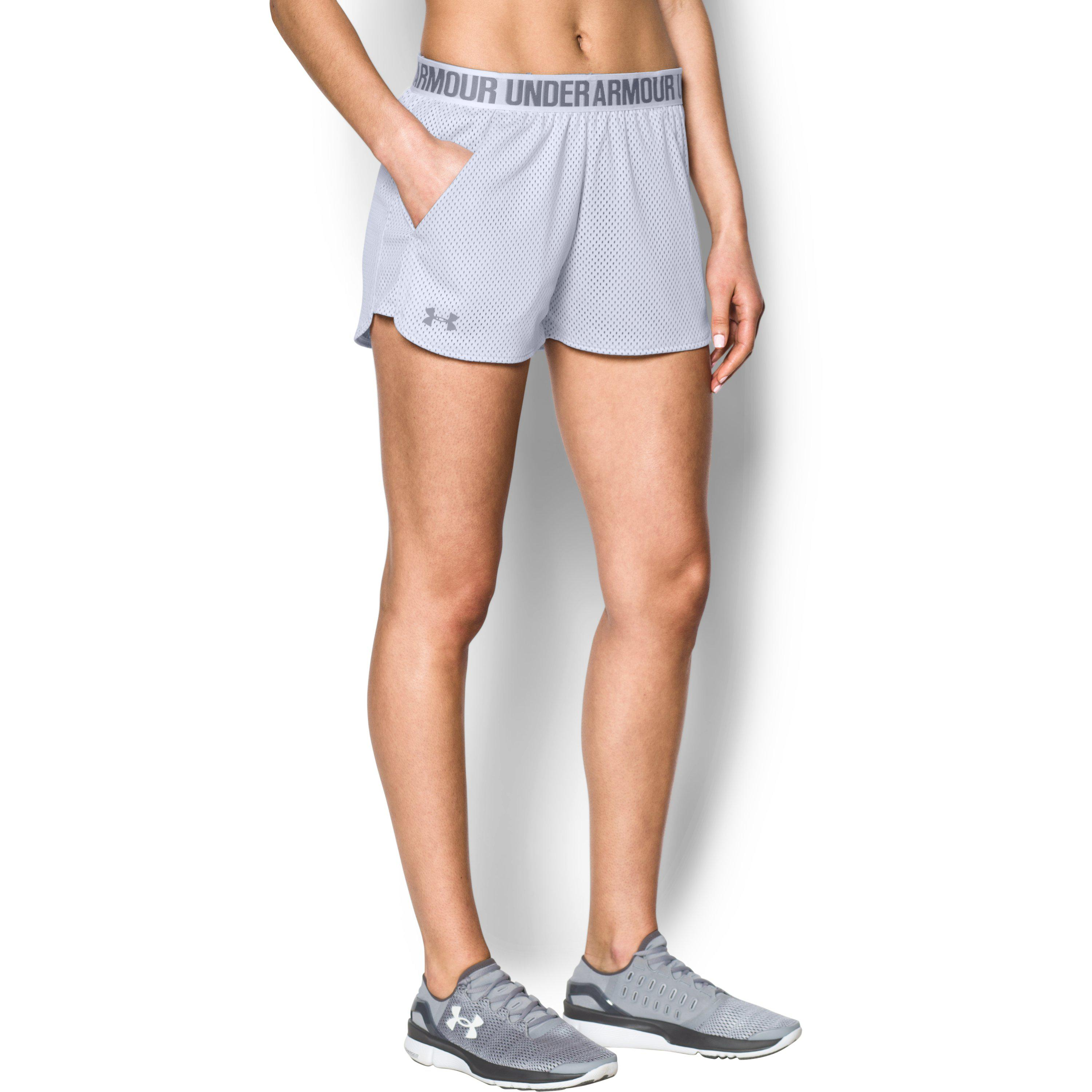 cheap sale how to purchase 100% satisfaction Women's Ua Play Up Short 2.0 - Mesh