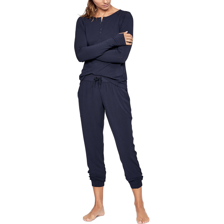 Lyst - Under Armour Women s Athlete Recovery Sleepwear Pants in Blue ca1297159