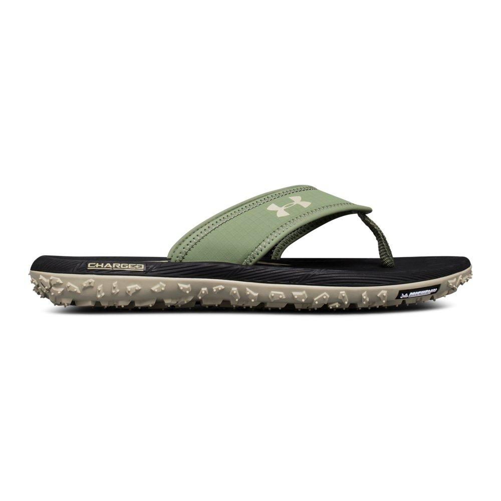 Ua Fat Tire Sandals in Green for Men
