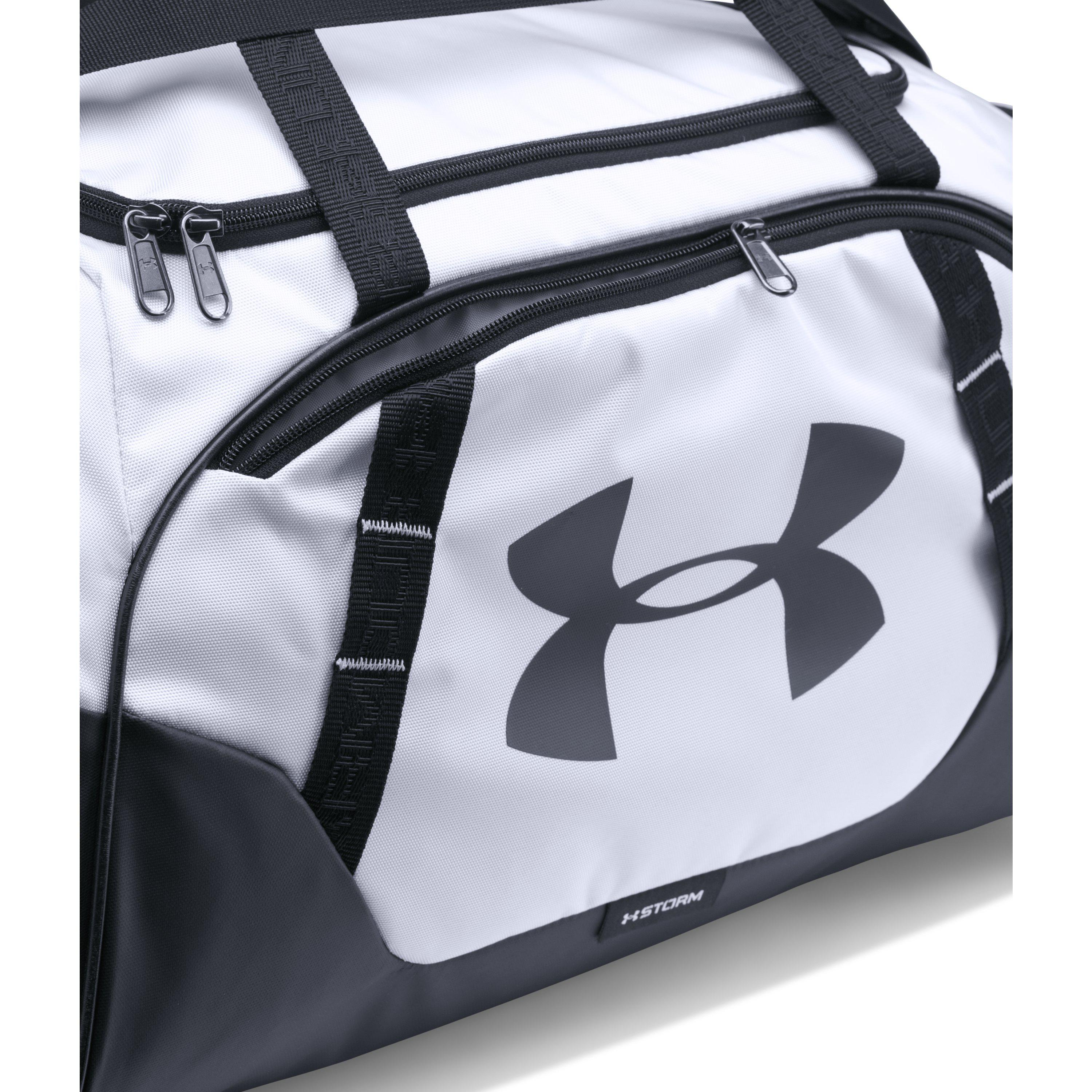 Under Armour - Black Men s Ua Undeniable 3.0 Small Duffle Bag for Men - Lyst bd1f9bd72aef9