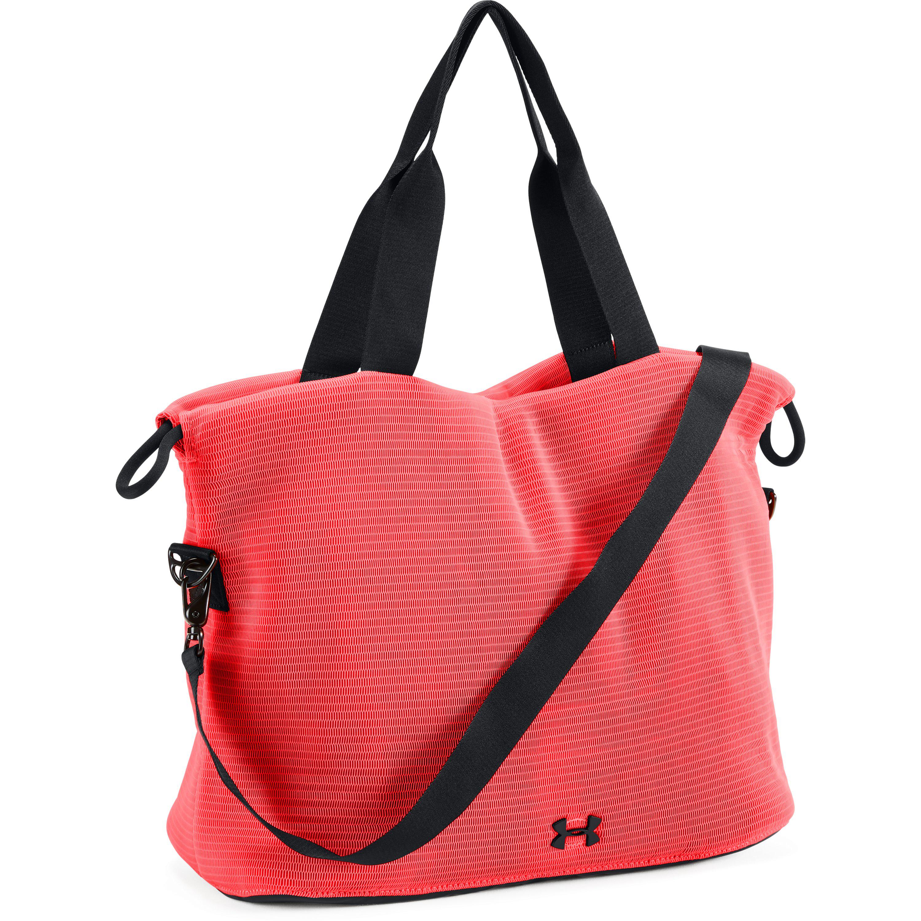0cac5224c1 Under Armour Women's Ua Cinch Mesh Tote in Red - Lyst
