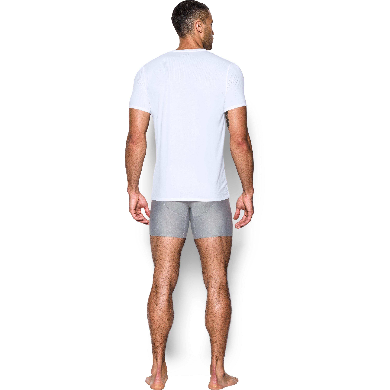 2b98546a6b Under Armour White Men's Armourvent® Mesh Series V-neck Undershirt for men