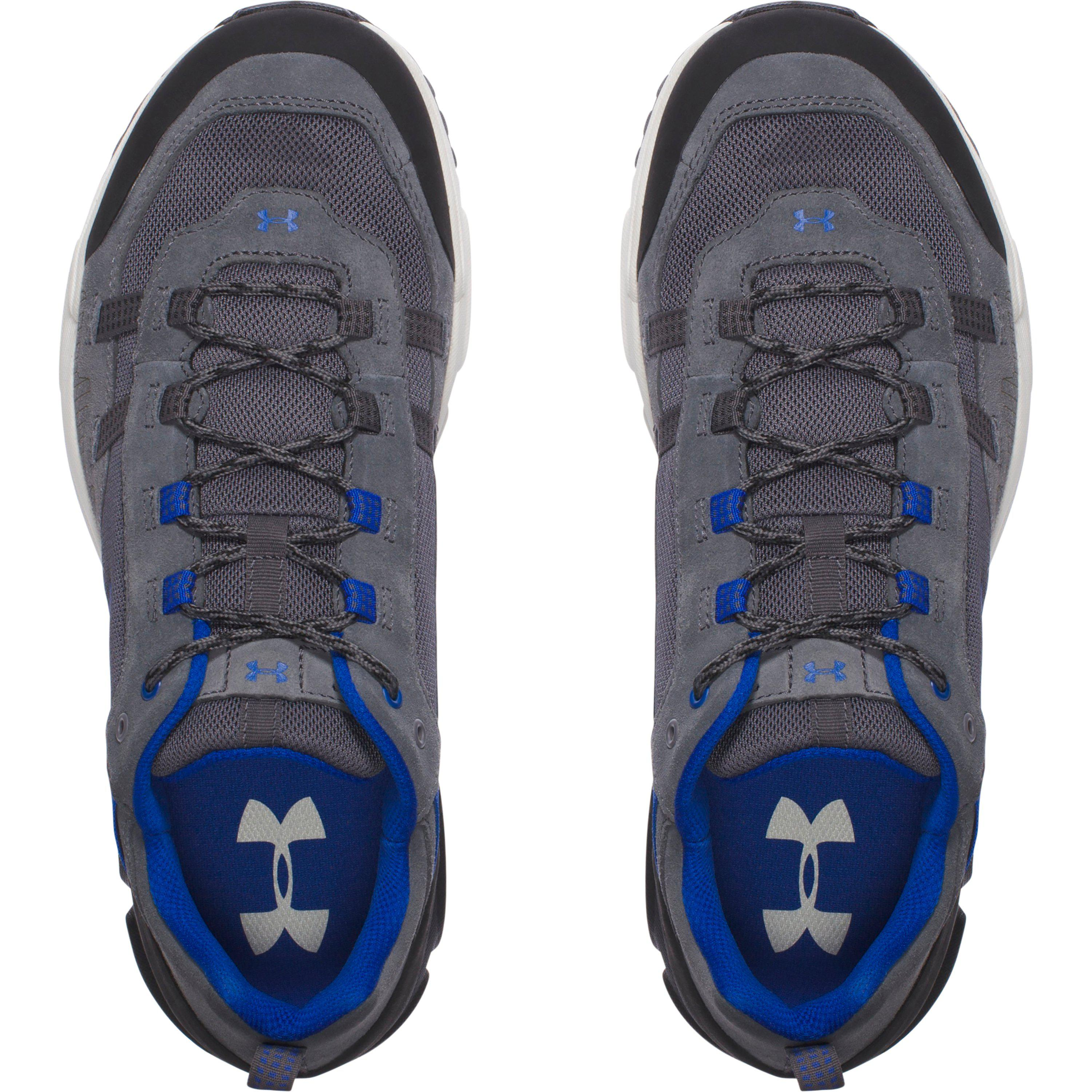 332a0027302 Under Armour Blue Men's Ua Post Canyon Low Hiking Boots for men