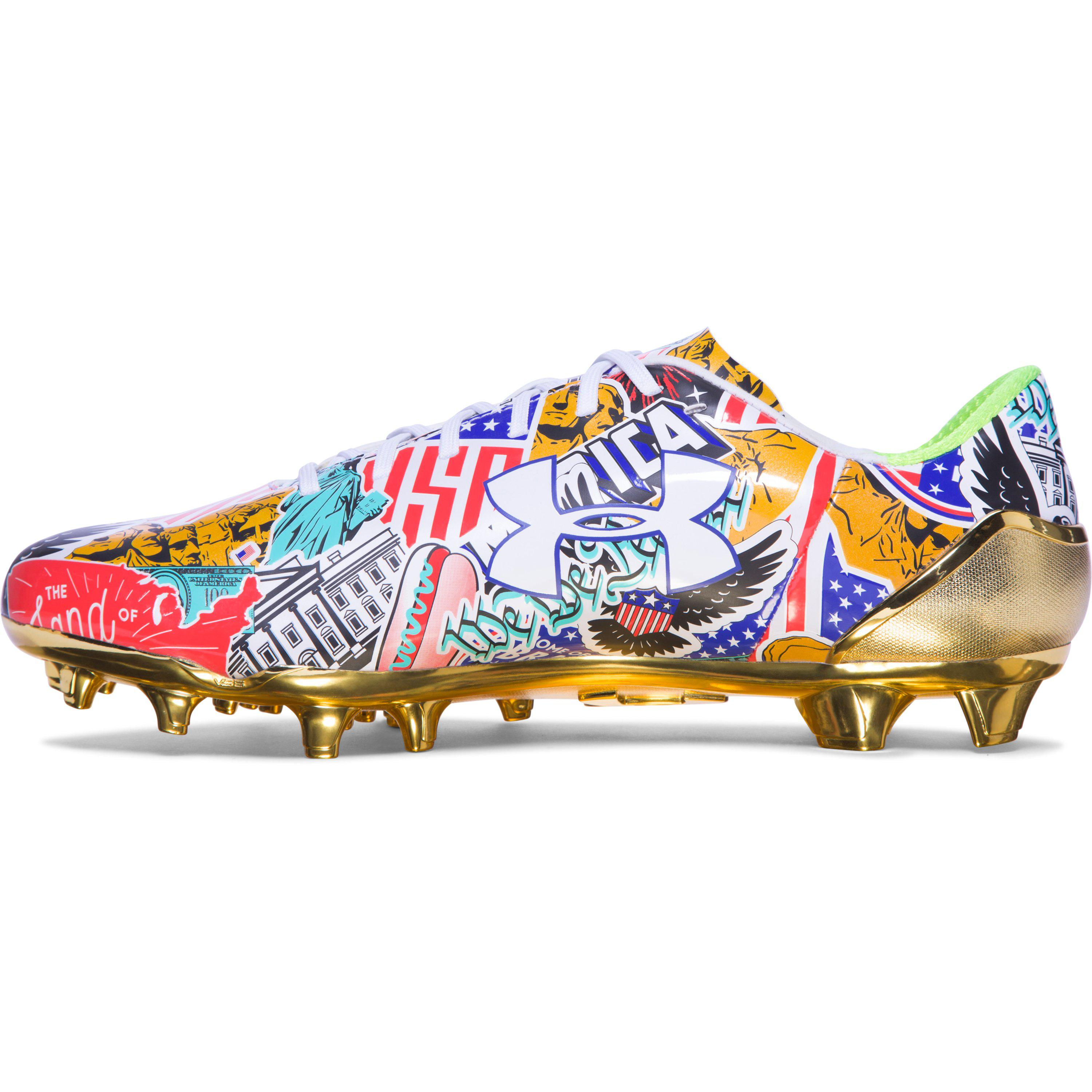6e1698246b0 Under Armour Ua Spotlight Limited Edition Football Cleats Sneakers ...