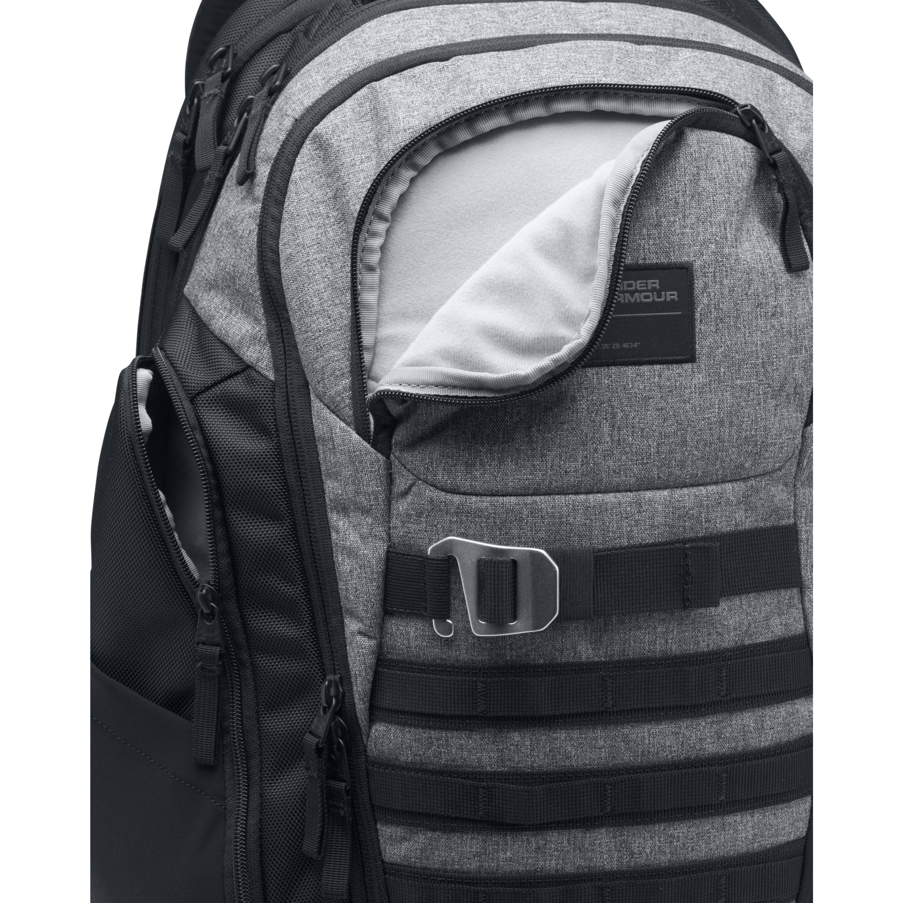 new high the latest hot sales Under Armour Synthetic Men's Ua Huey Backpack in Graphite/Black ...
