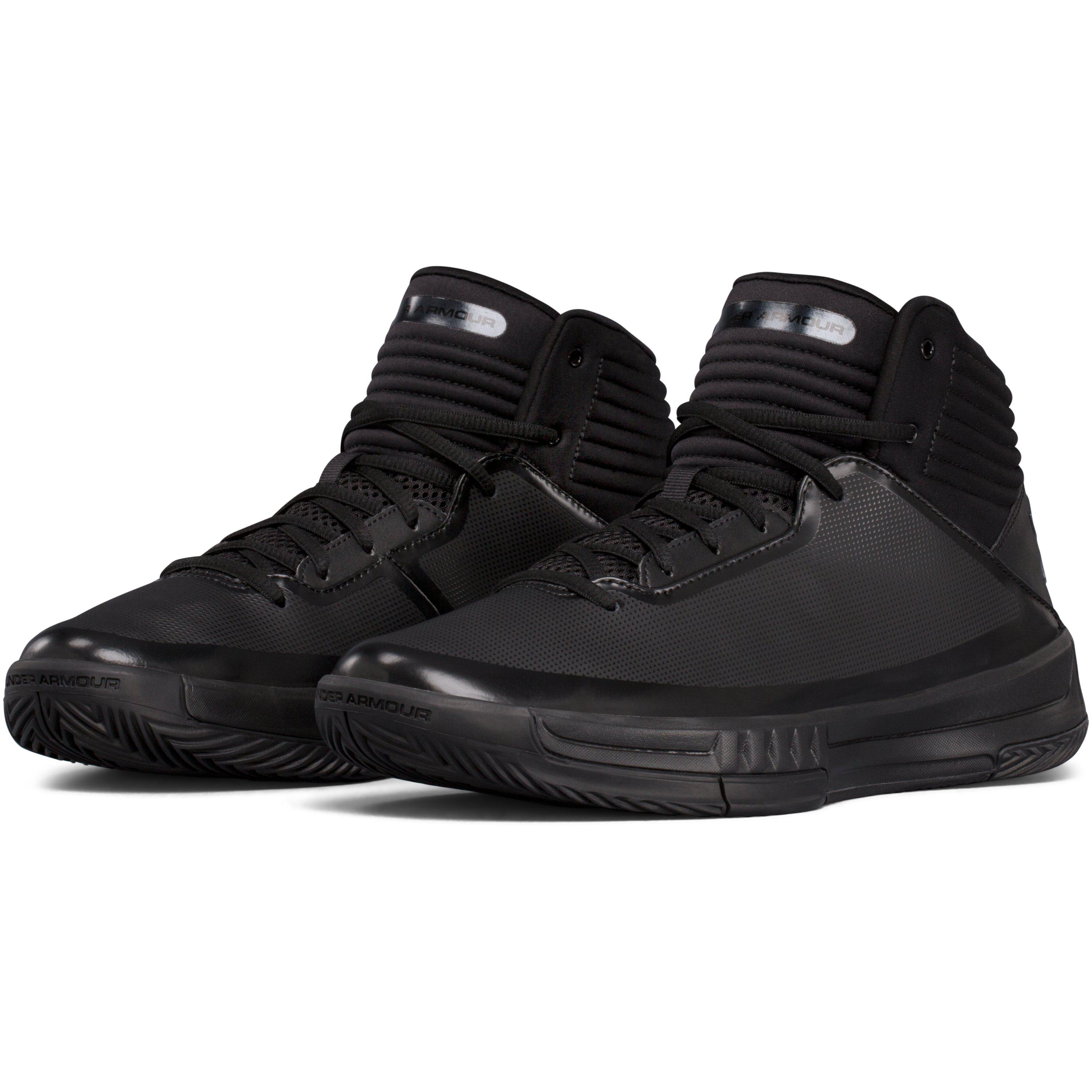 f0024da10db3 Lyst - Under Armour Men s Ua Lockdown 2 Basketball Shoes in Black ...