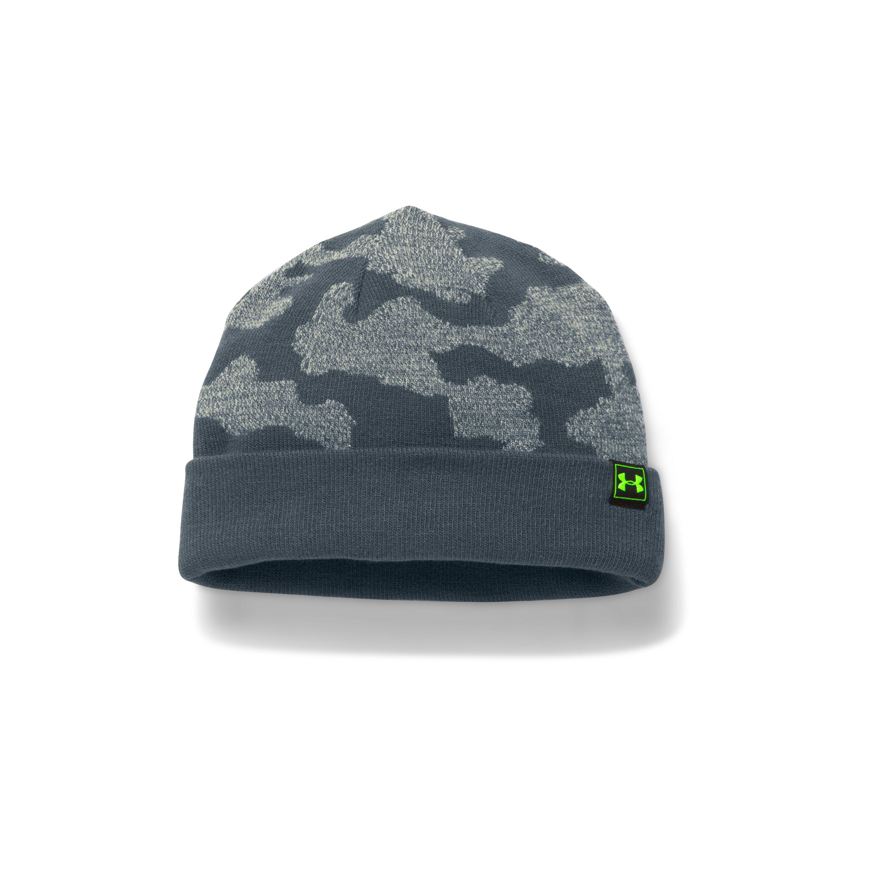 61497cab59e Lyst - Under Armour Men s Ua Reversible Beanie in Gray for Men
