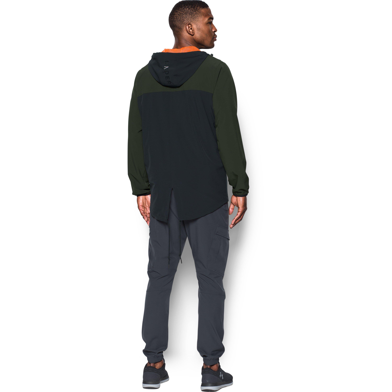 Black Men's Ua Sportstyle Fishtail Jacket