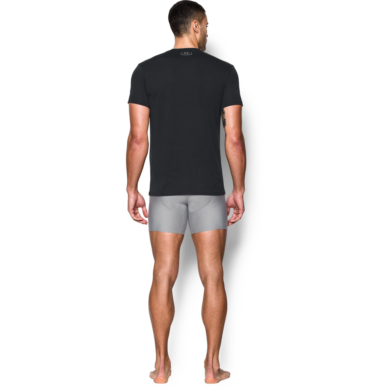 42619e66 Under Armour Black Men's Ua Core V-neck Undershirt – 2-pack for men