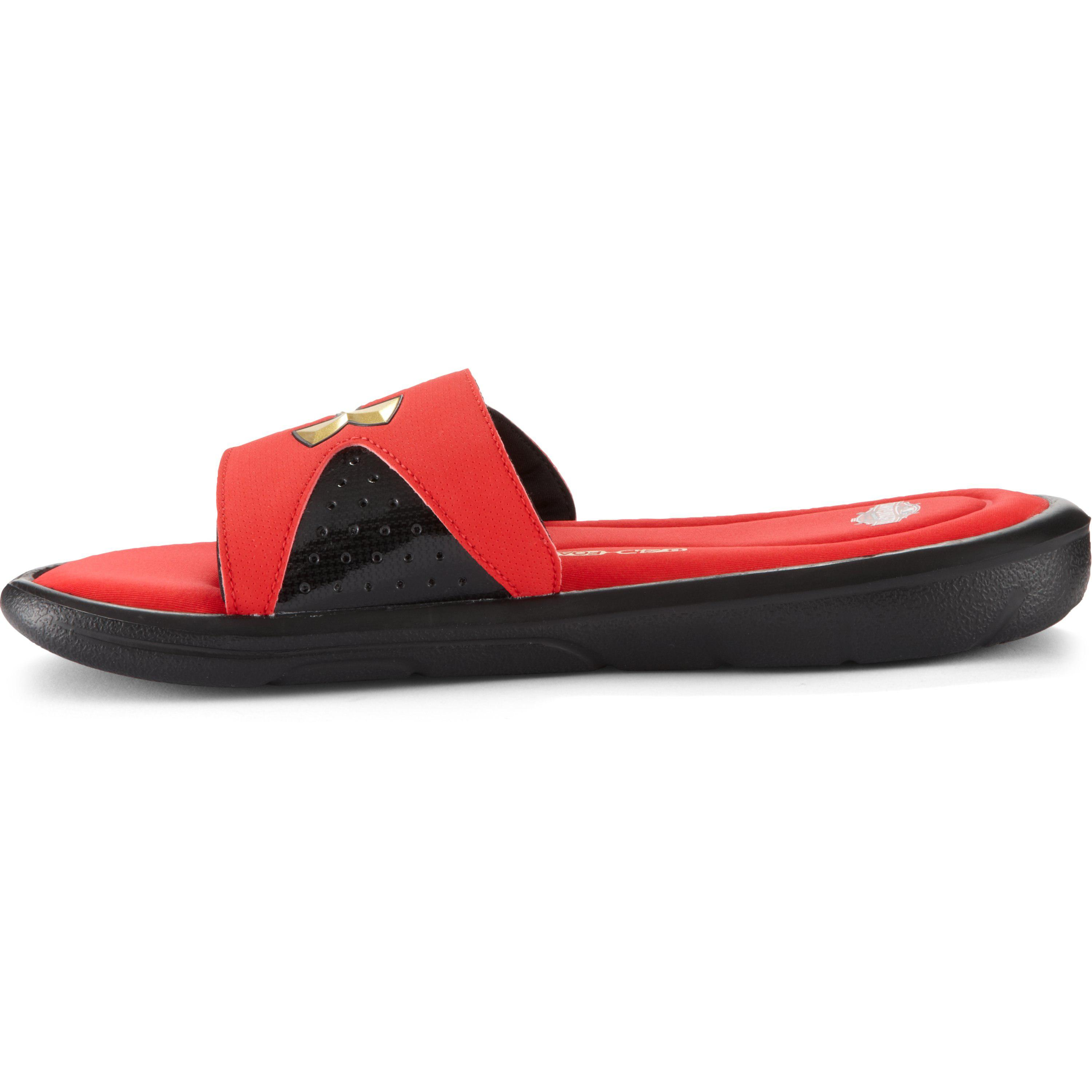 c63644cb23 Under Armour Red Men's Ua Ignite Iv Sandals – Mlb All-star Game Edition for  men