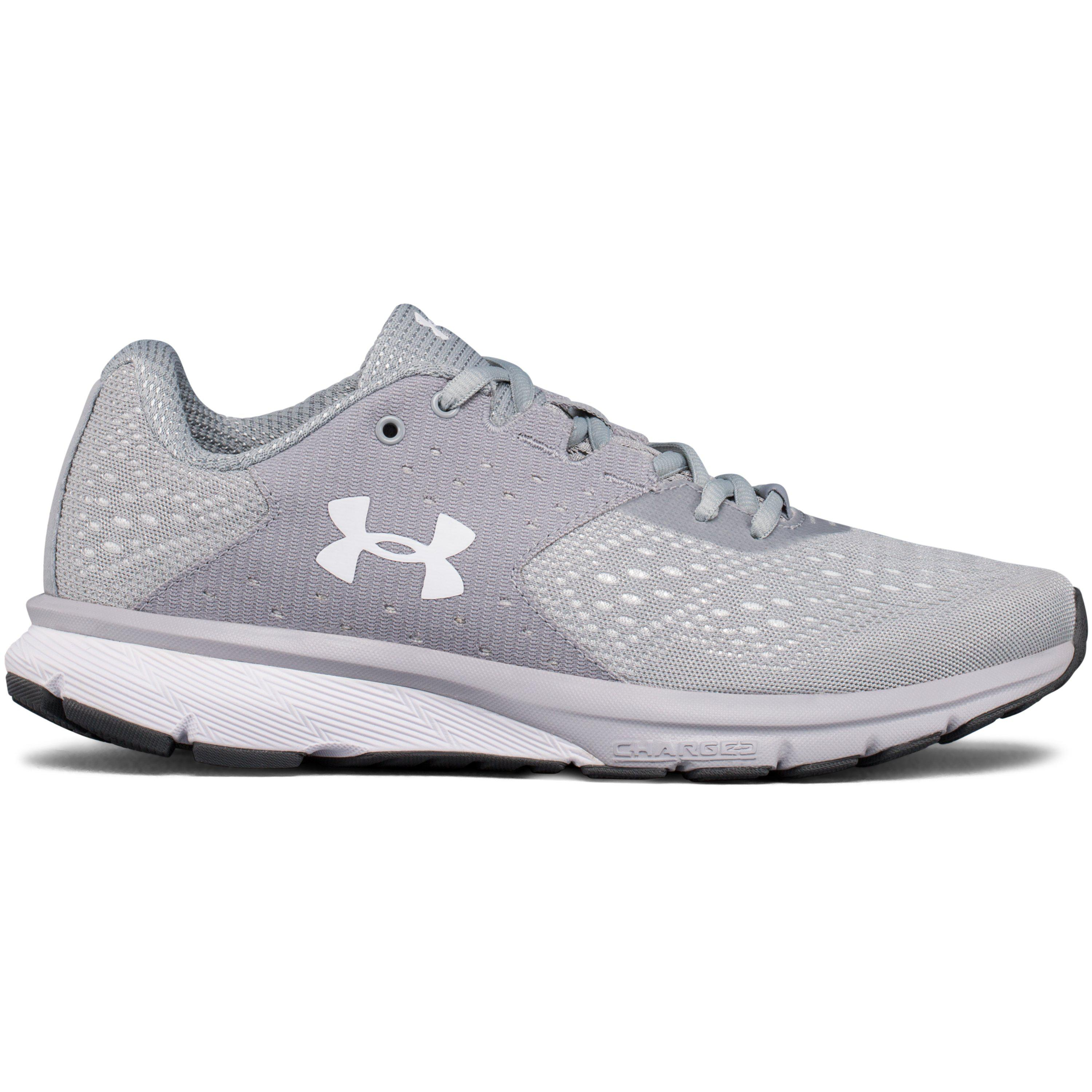 efb504f468 Under Armour - Gray Women's Ua Charged Rebel Running Shoes - Lyst
