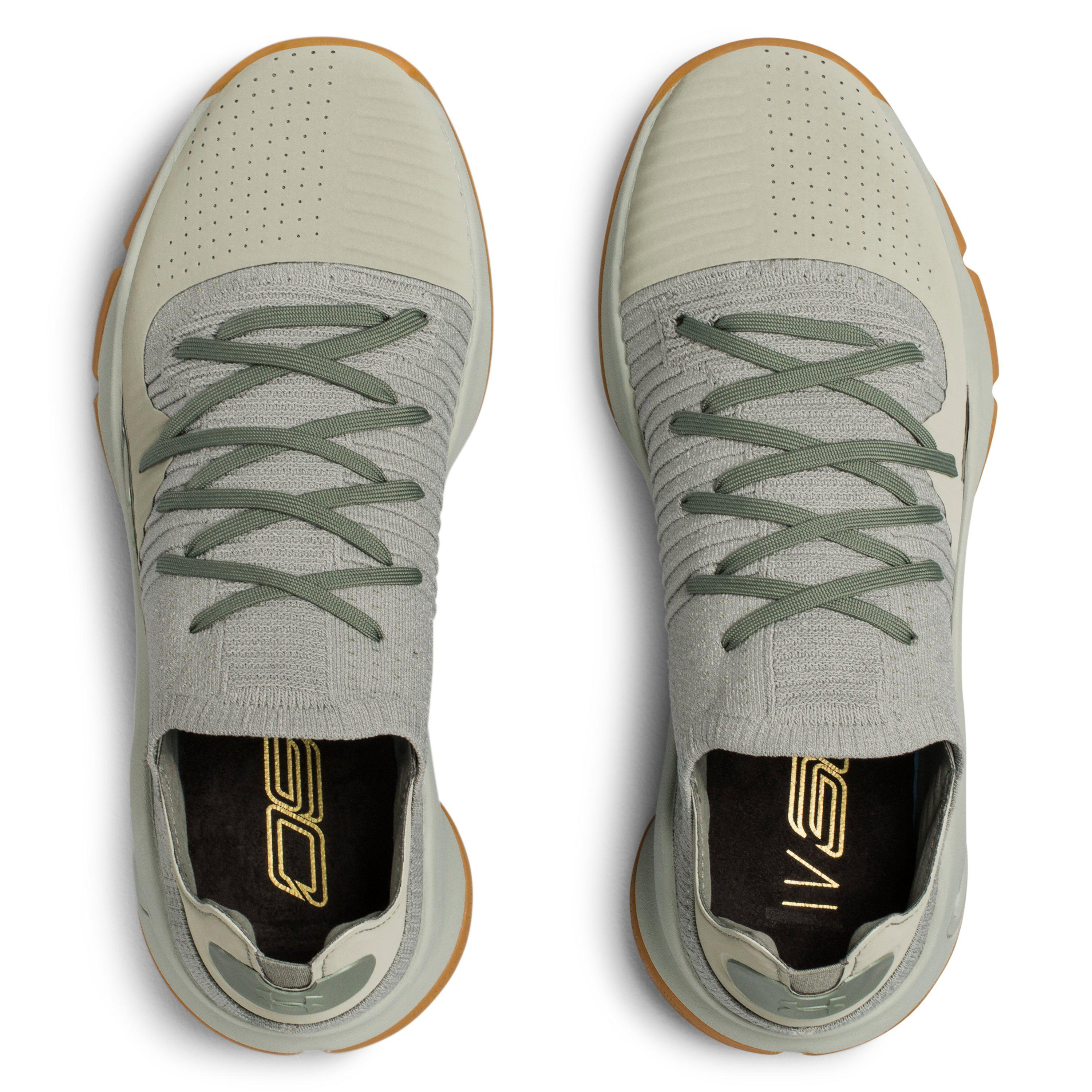 6ffabf451f1 ... order lyst under armour mens ua curry 4 low basketball shoes in green  f57ed 40033