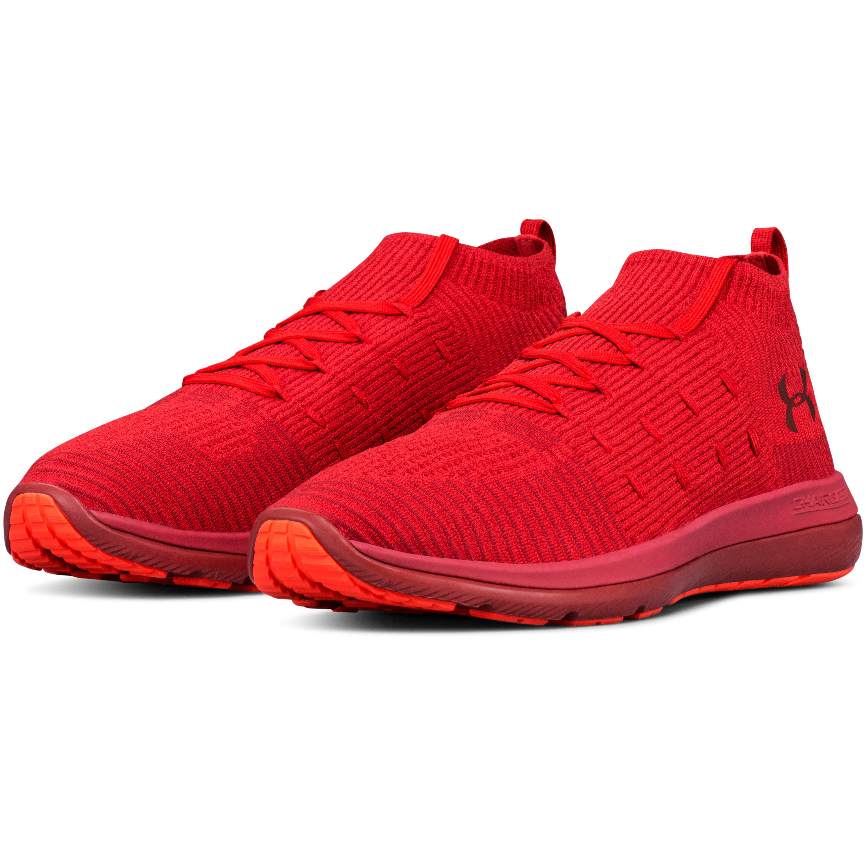 new york ff734 d2c6b Under Armour Red Men's Ua Slingflex Rise Running Shoes for men