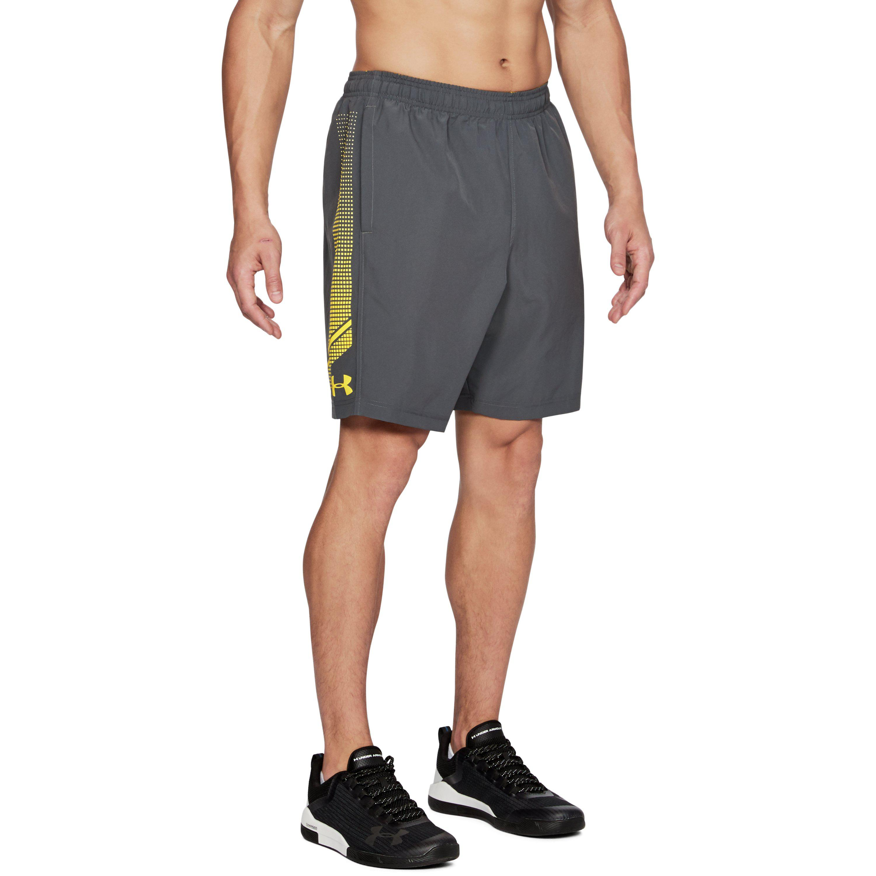 554622e08932 Lyst - Under Armour Men s Ua Woven Graphic Shorts in Gray for Men