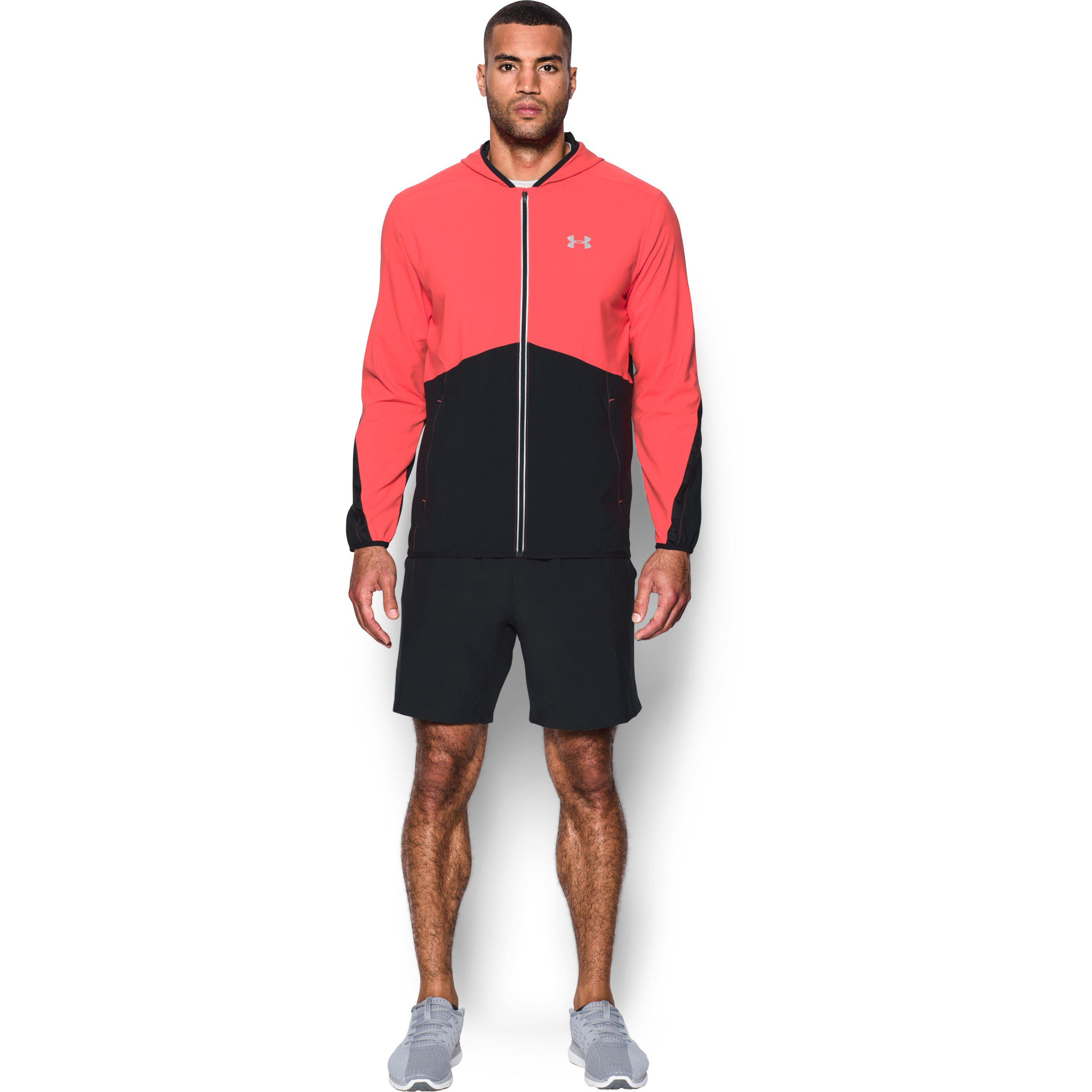 Lyst - Under Armour Men s Ua Run True Jacket in Red for Men a27a03f8e