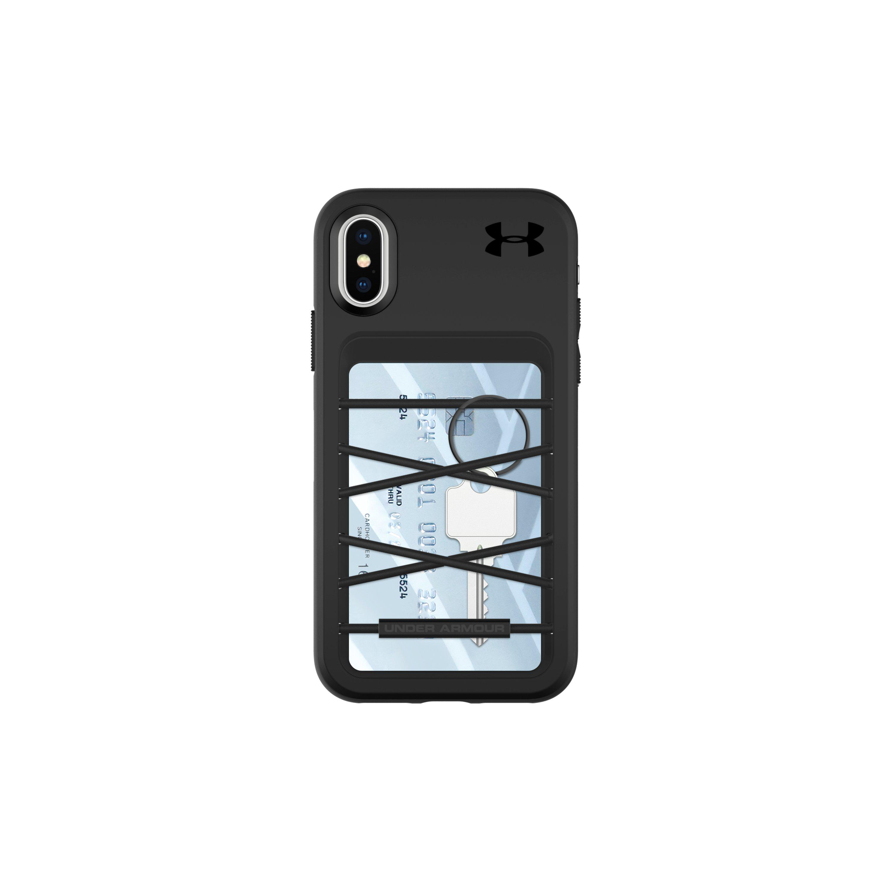 timeless design d4745 be555 Under Armour Black Ua Protect Stash Case For Iphone Xs/x