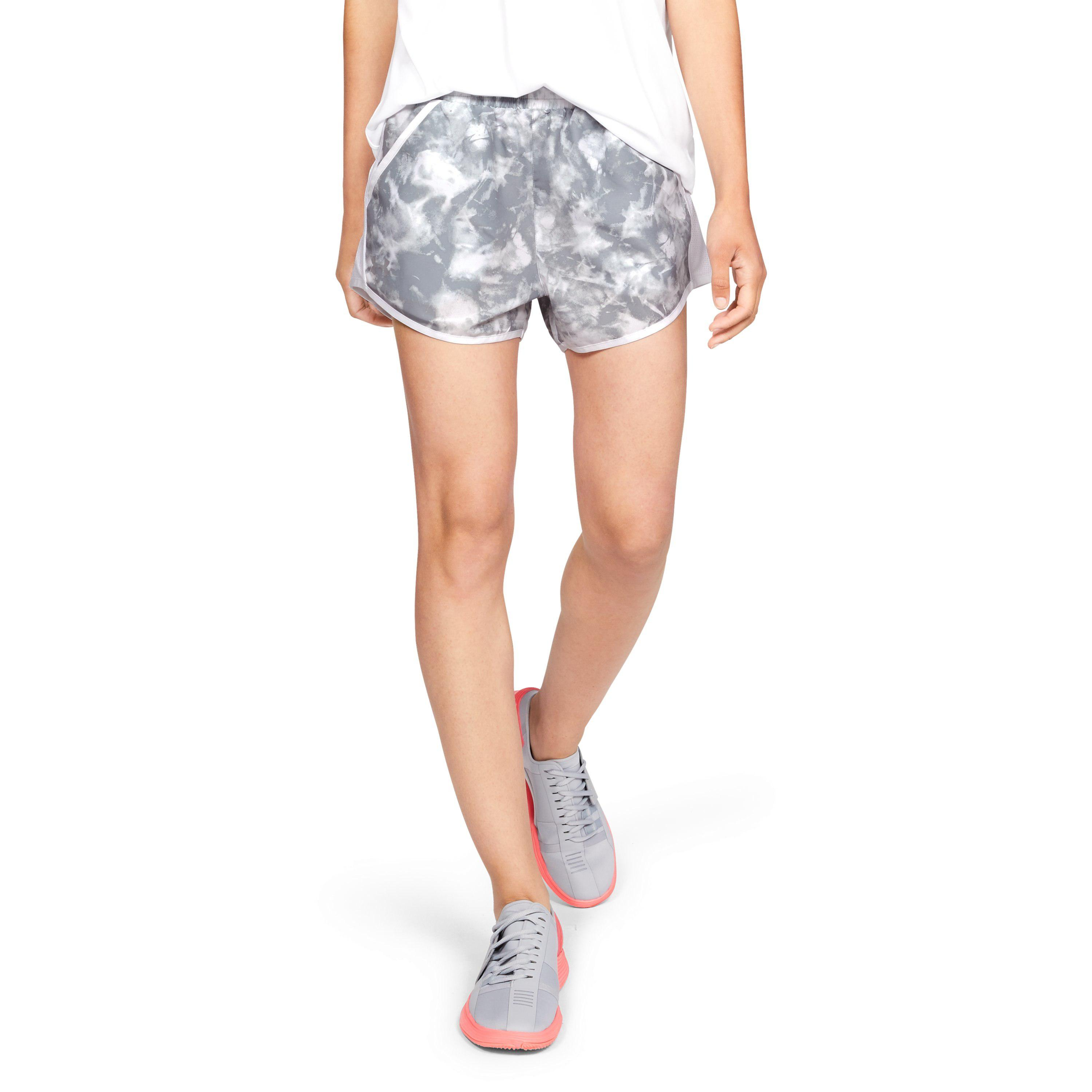 8d6e37e4 Under Armour Multicolor Women's Ua Fly-by Team Printed Shorts