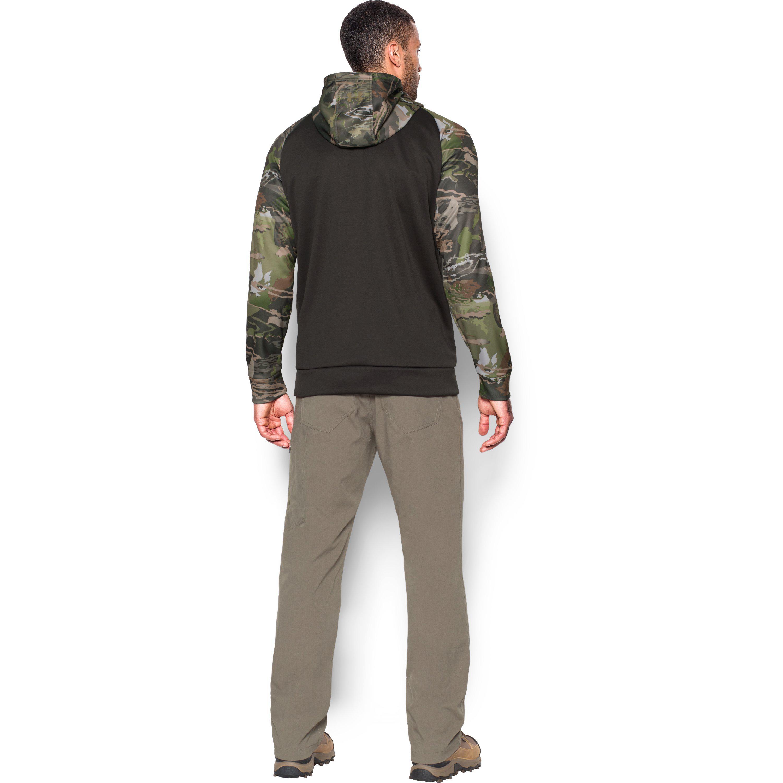huge selection of e174e 54e38 Under Armour Men s Ua Storm Armour Fleece® Camo Hoodie for Men - Lyst