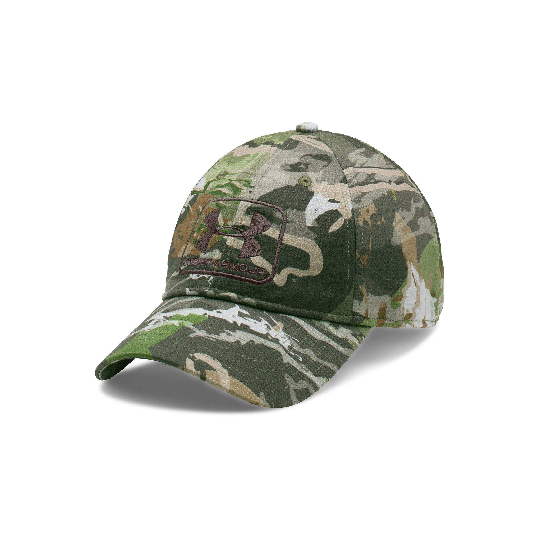 Lyst - Under Armour Men s Ua Camo Stretch Fit Cap in Green for Men 242060c8741