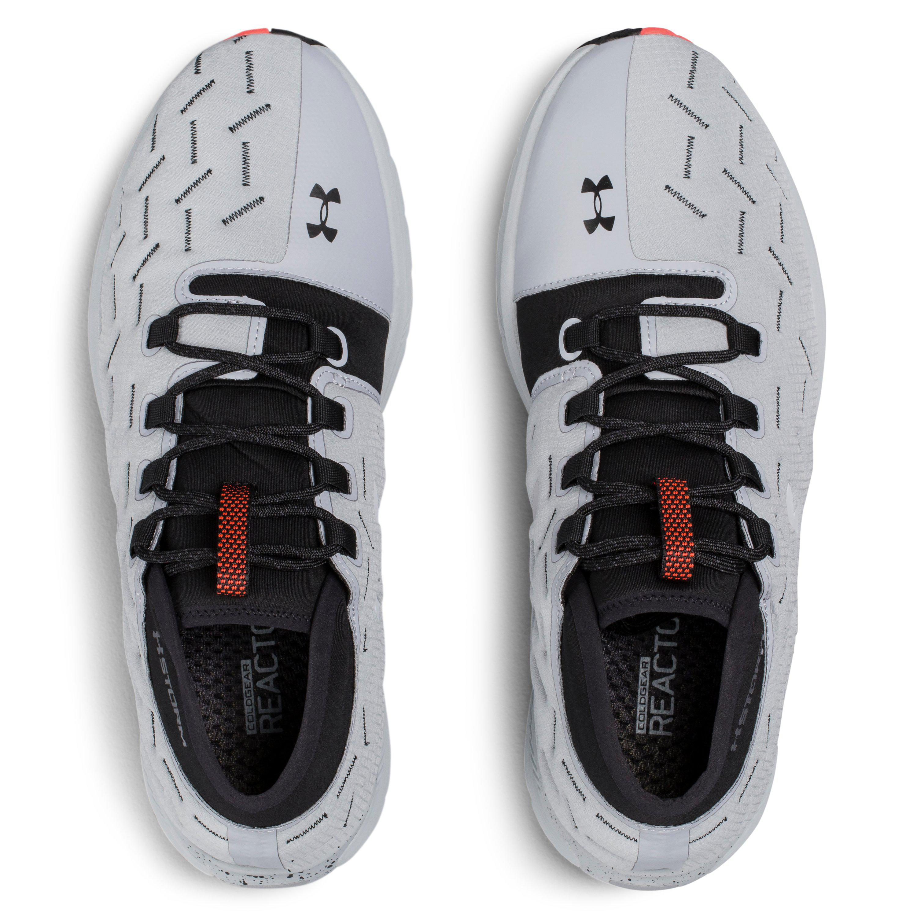 low priced df60f 99574 Under Armour Black Men's Ua Charged Reactor Run Running Shoes for men