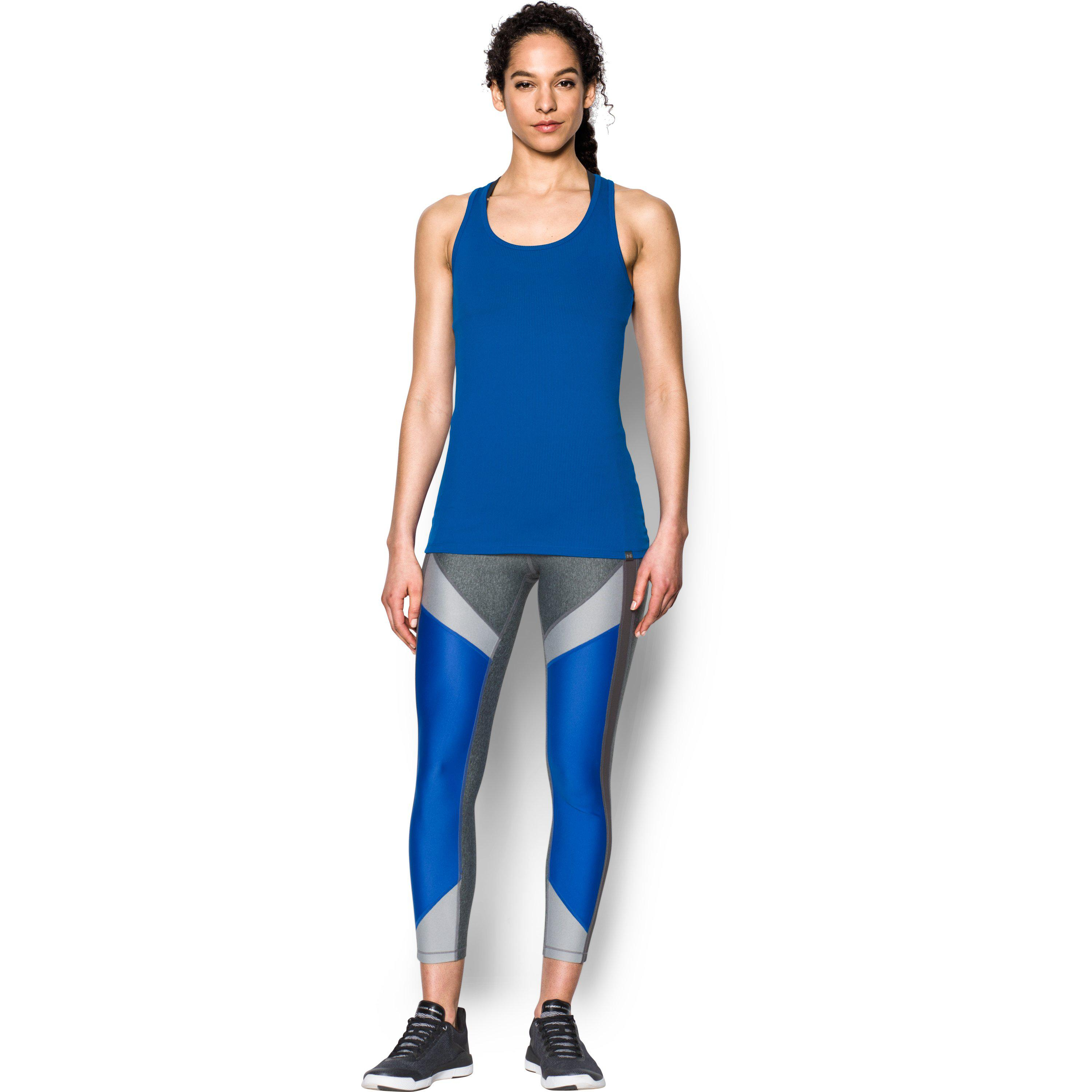 07b393da3ba0a Lyst - Under Armour Women s Ua Techtm Victory Tank in Blue
