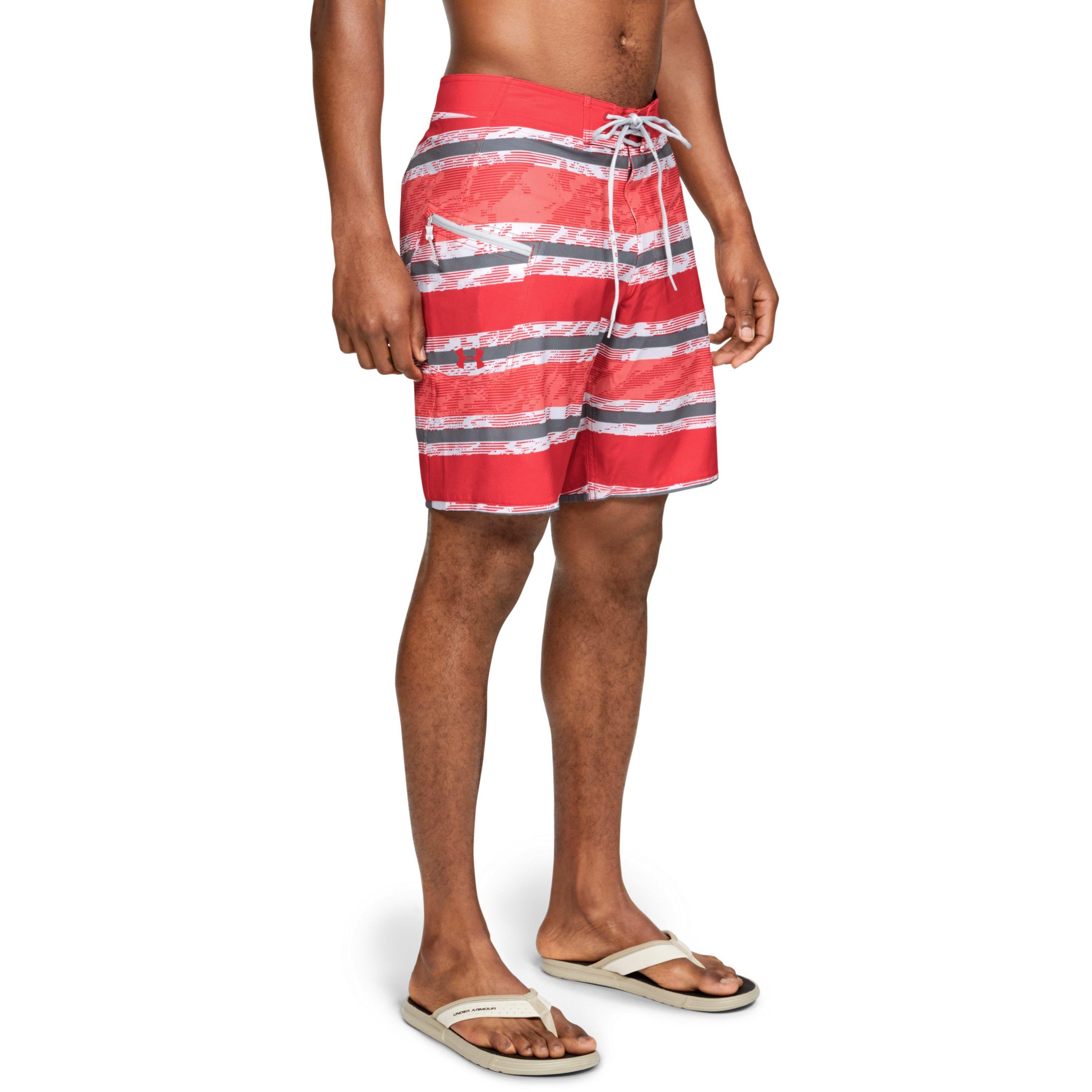 c73ae9917ebc5 Lyst - Under Armour Men's Ua Tide Chaser Boardshorts in Red for Men