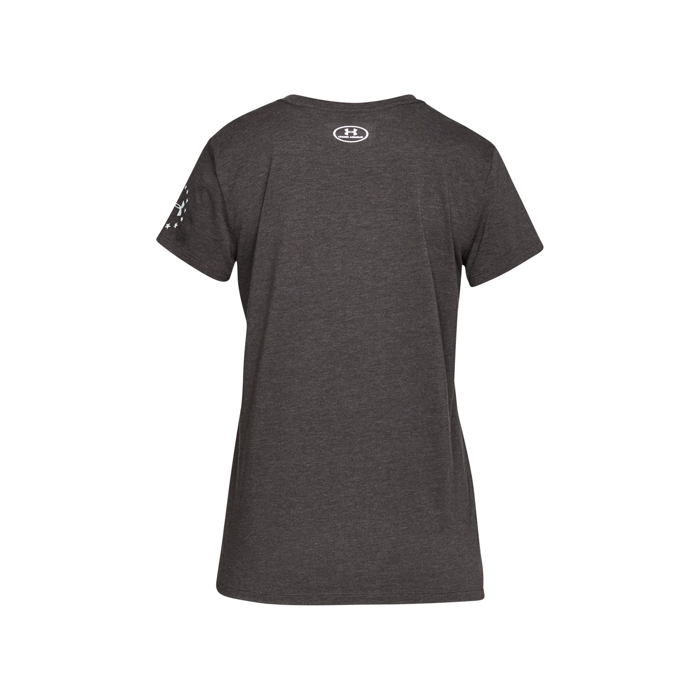 bd306df9c6 Gray Women's Ua Freedom Eagle T-shirt