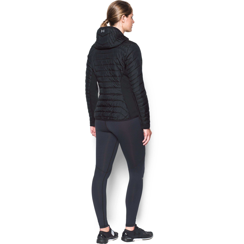 56f7c11e Under Armour Black Women's Coldgear® Reactor Hybrid Jacket