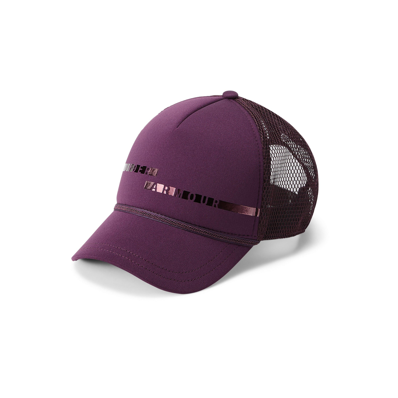 2770fac012ac63 Lyst - Under Armour Women's Ua Graphic Trucker Cap in Purple