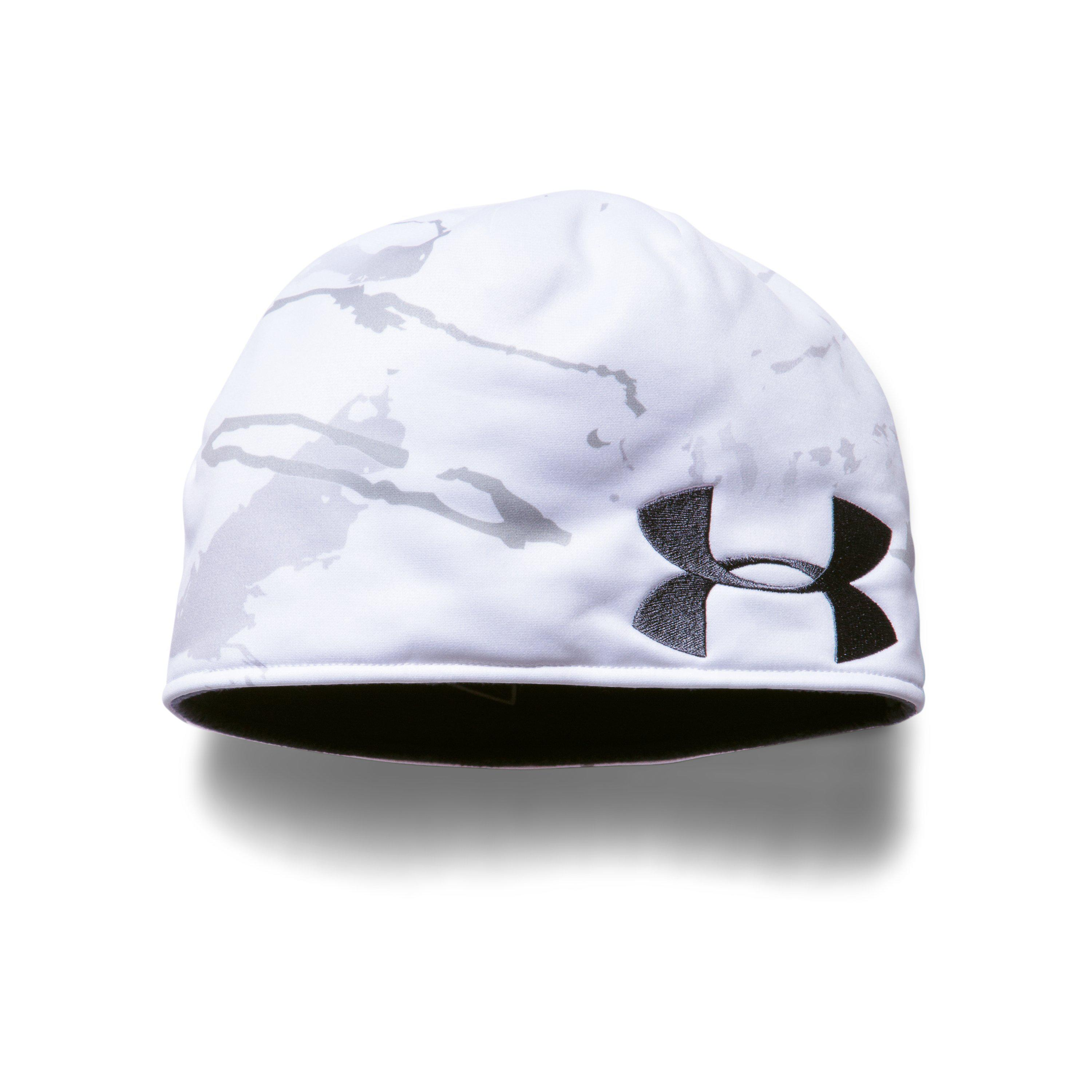 1904a60cacf833 Under Armour Men's Ua Reversible Camo Beanie in Blue for Men - Lyst