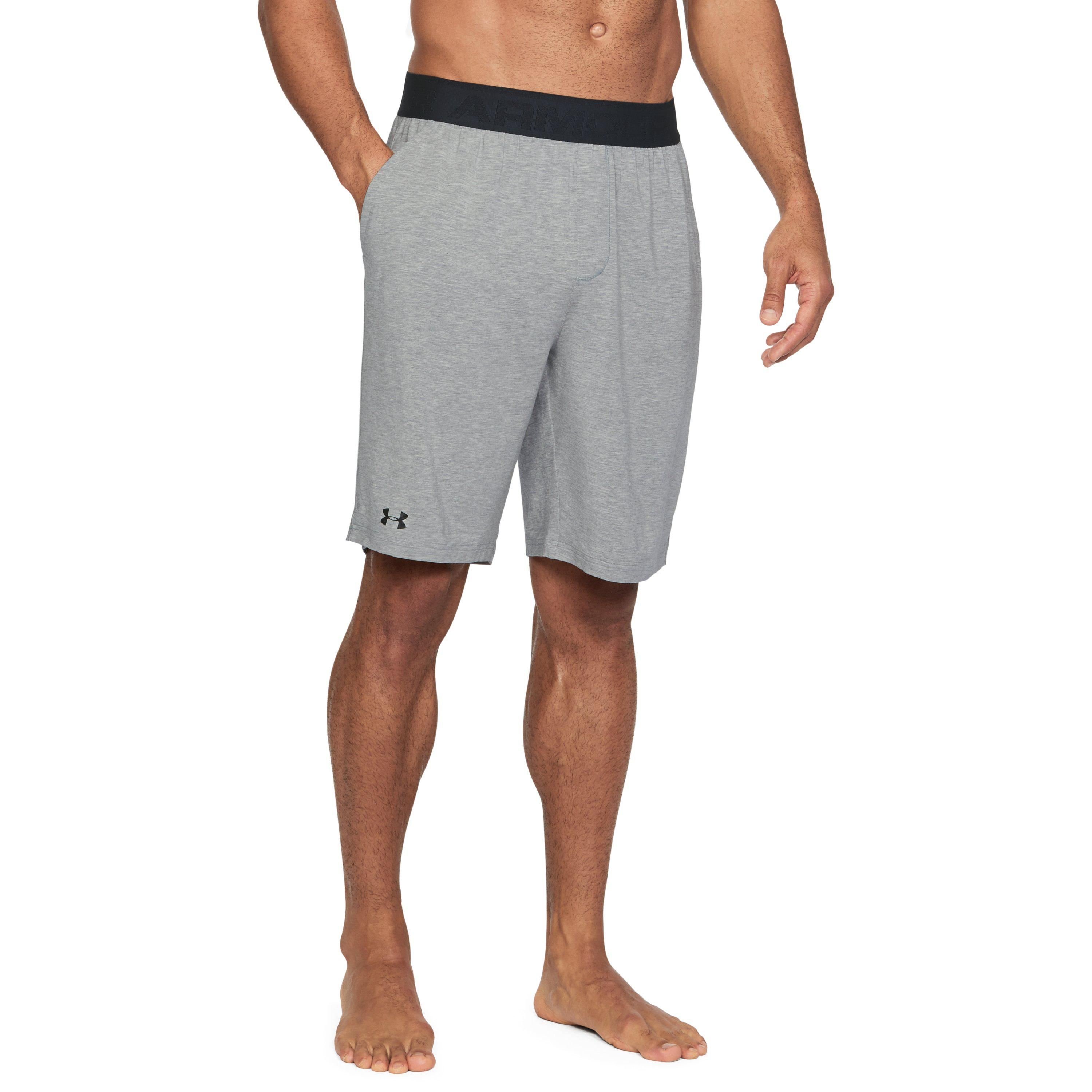 736e9580f2 Under Armour Gray Men's Athlete Recovery Sleepwear Shorts for men