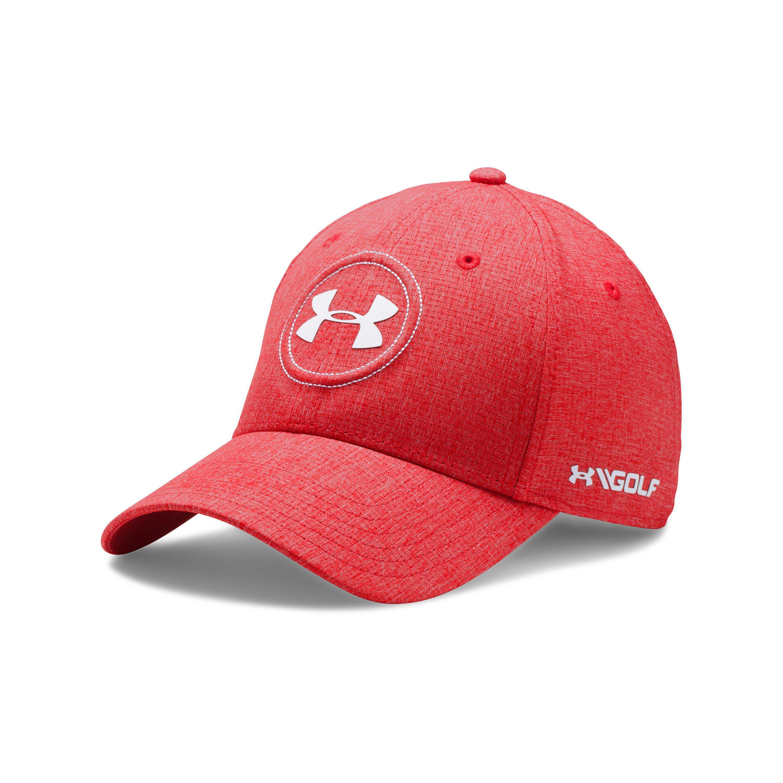 3f9ed95d9c25 Lyst - Under Armour Men s Jordan Spieth Ua Tour Cap in Red for Men
