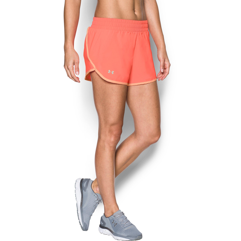 c11fce87c Under Armour Women's Ua Launch Tulip Shorts - Lyst
