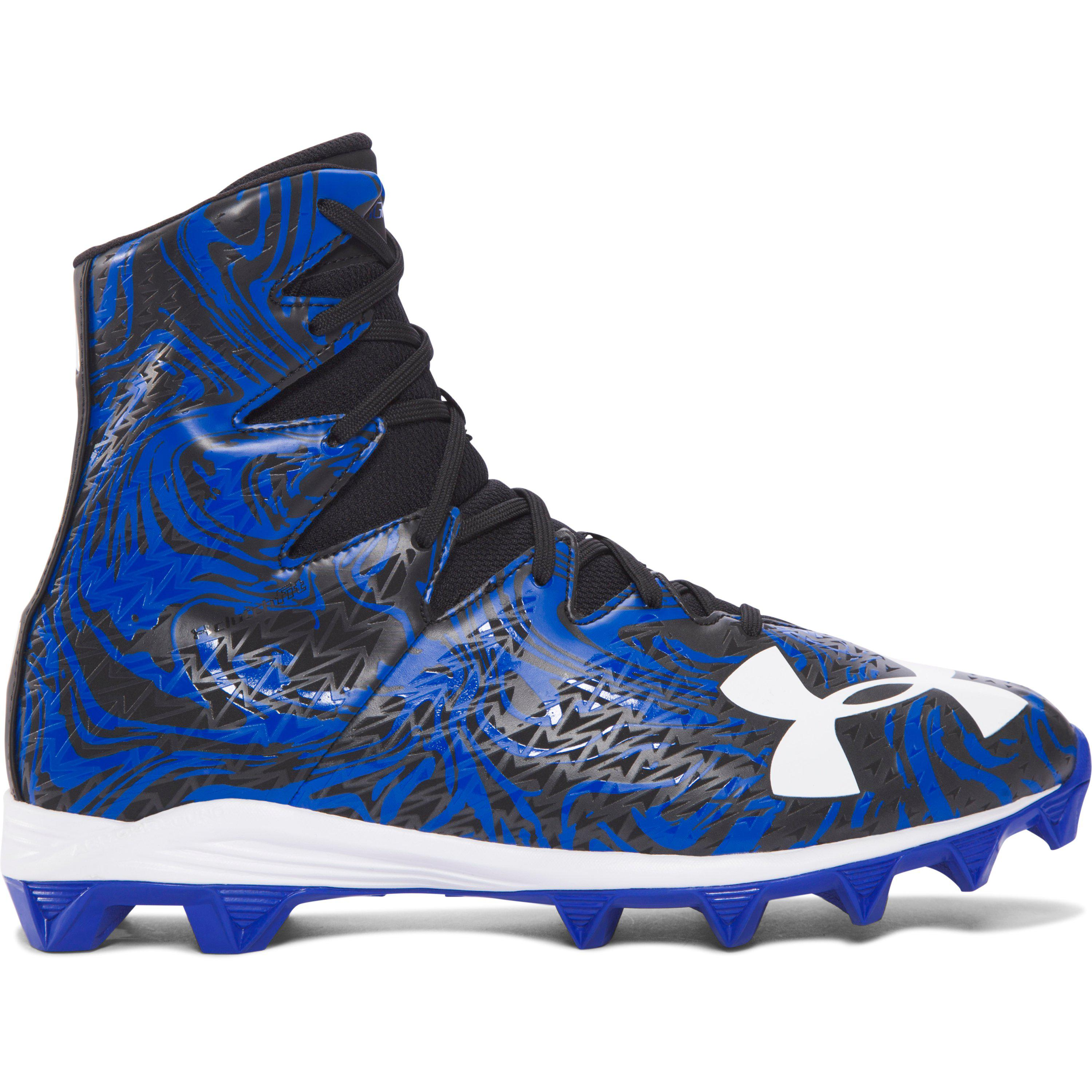 ad4139bac6fb Under Armour Men's Ua Highlight Lux Rubber Molded Football Cleats in ...