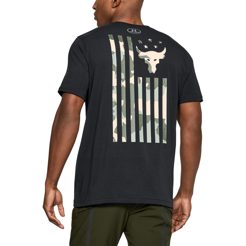 save off half price outlet Men's Ua X Project Rock Usdna T-shirt