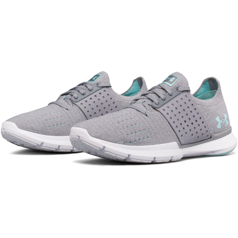 online store 8faa4 02ff0 Under Armour Gray Women's Ua Threadborne Slingwrap Running Shoes